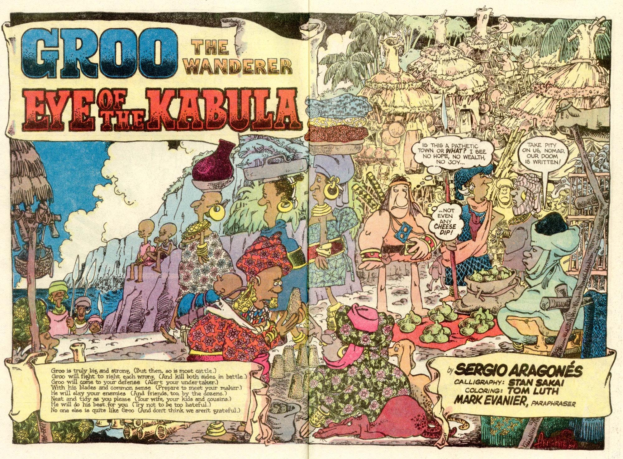 Read online Sergio Aragonés Groo the Wanderer comic -  Issue #6 - 3