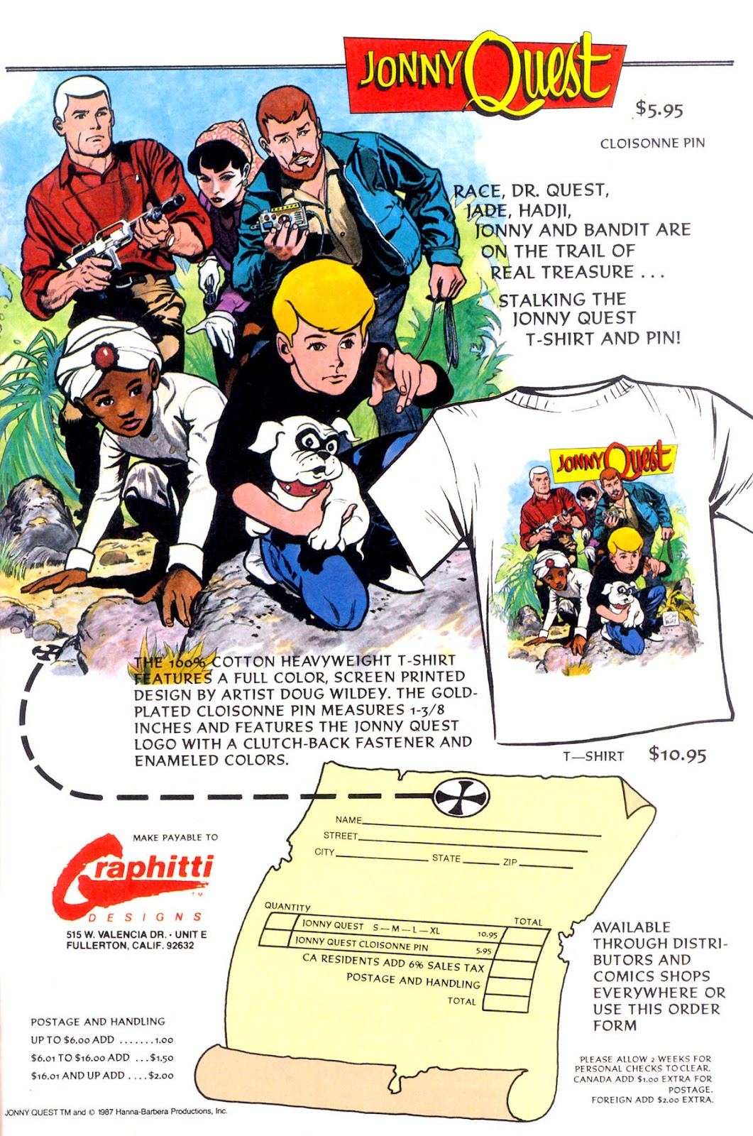 Jonny Quest (1986) issue 11 - Page 34