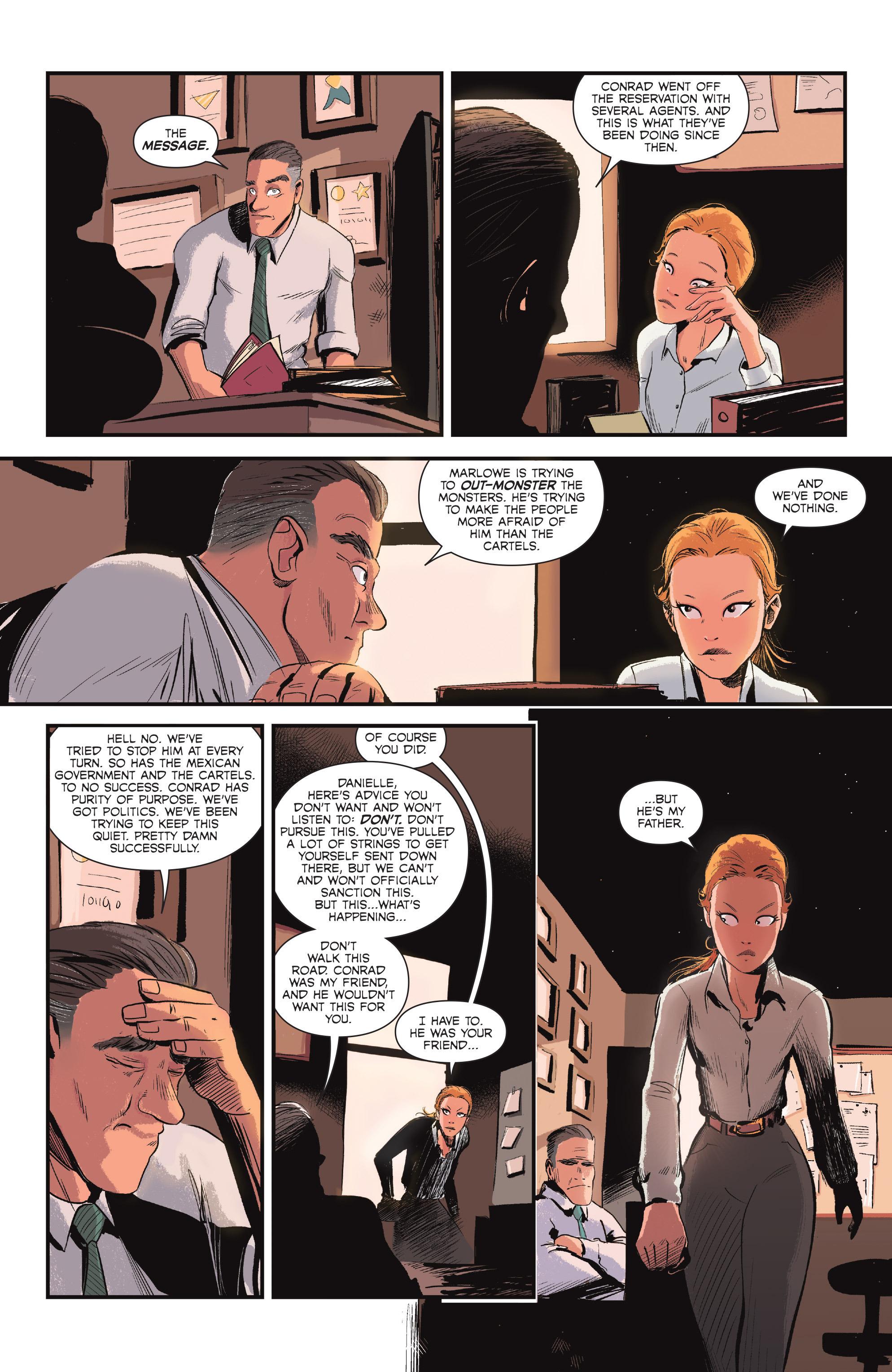 Read online Sombra comic -  Issue #1 - 10