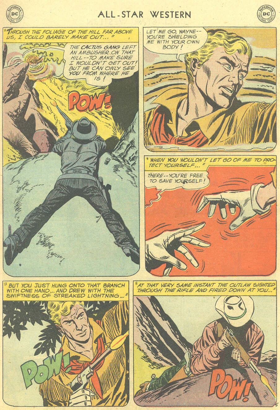 Read online All-Star Western (1951) comic -  Issue #101 - 7