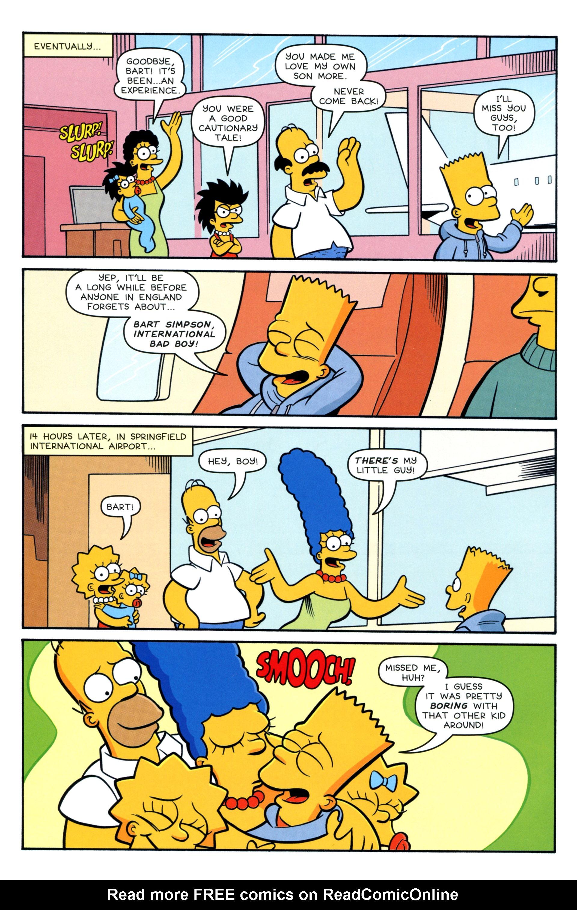 Read online Simpsons Comics comic -  Issue #208 - 22