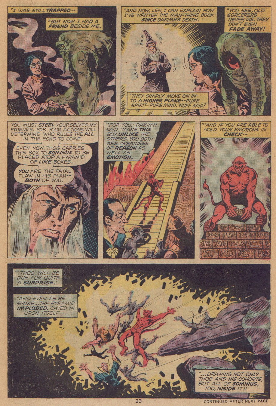Man-Thing (1974) issue 22 - Page 16
