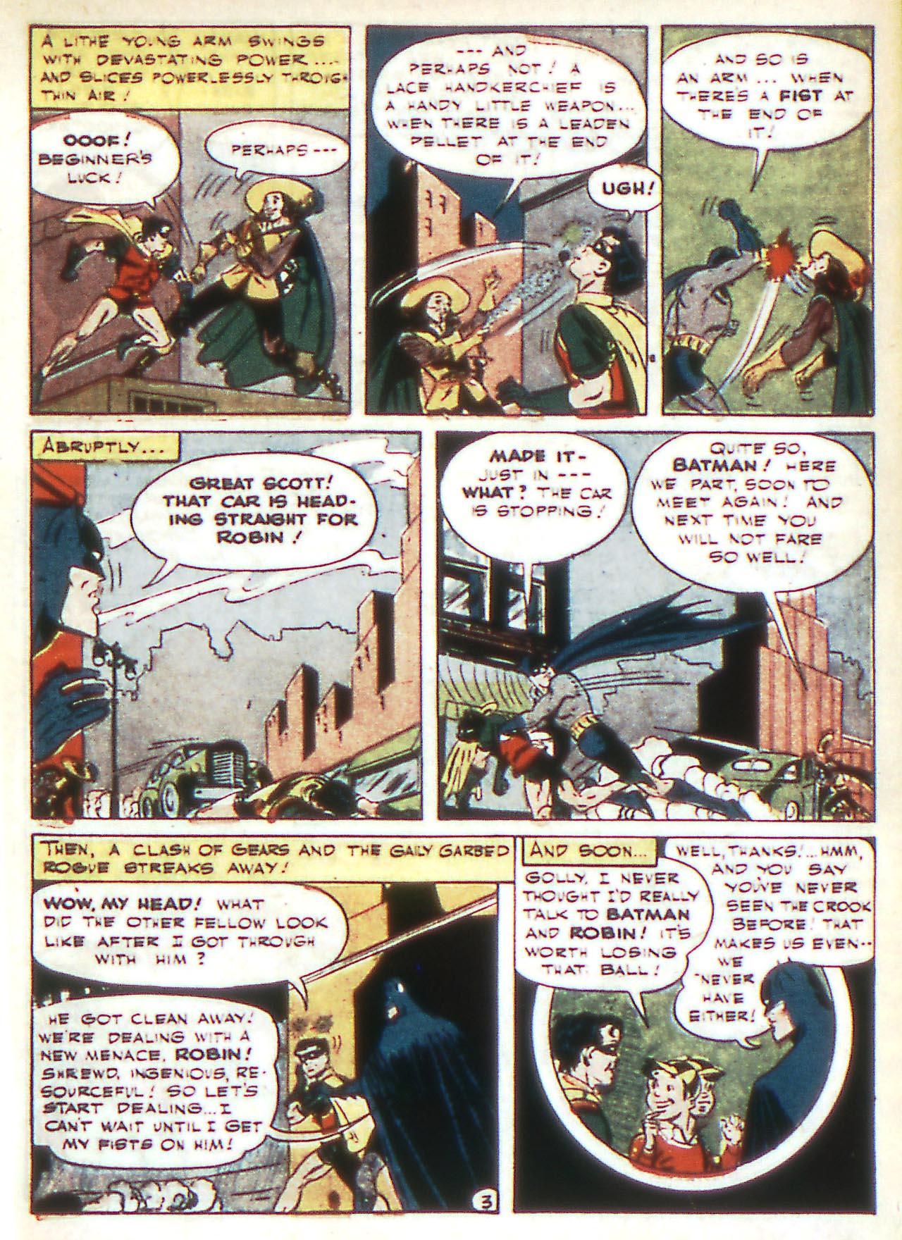 Read online Detective Comics (1937) comic -  Issue #81 - 5