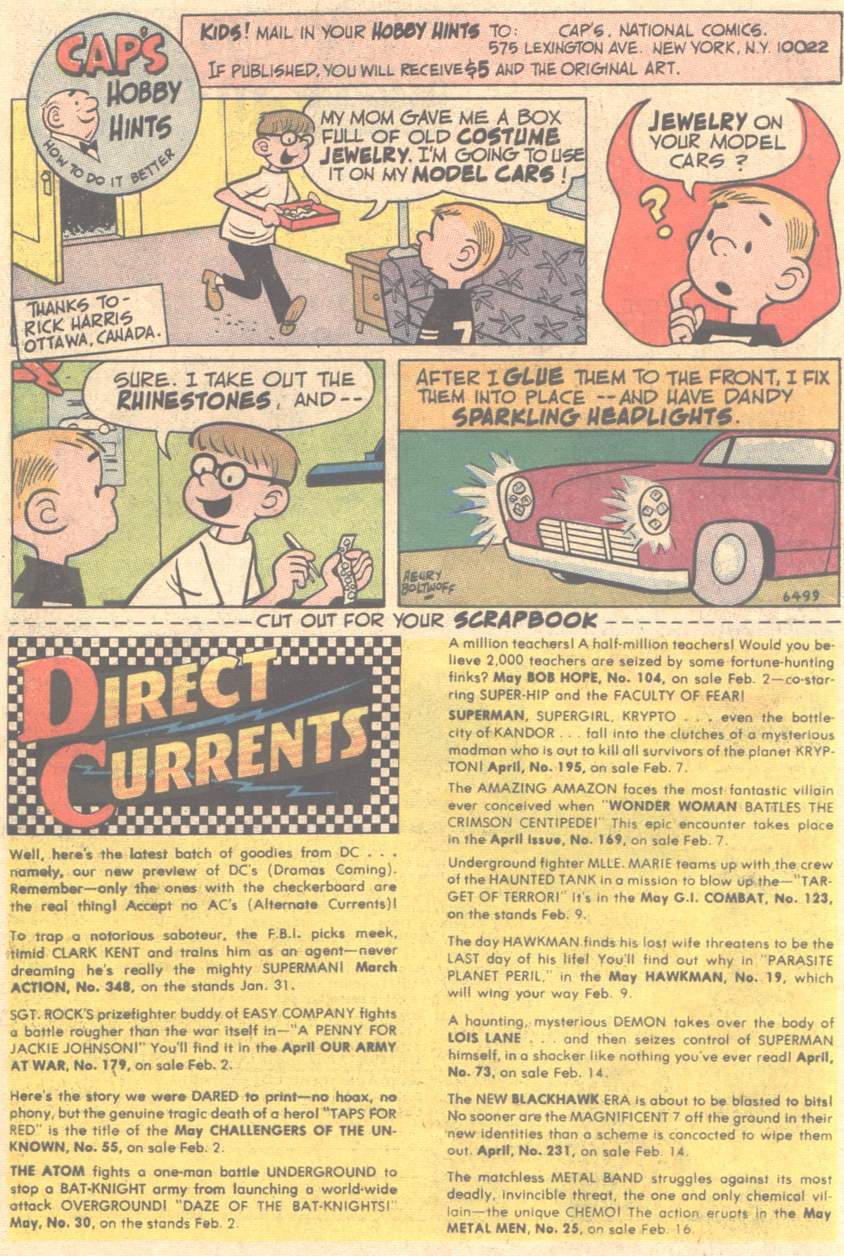 Read online Adventure Comics (1938) comic -  Issue #354 - 34