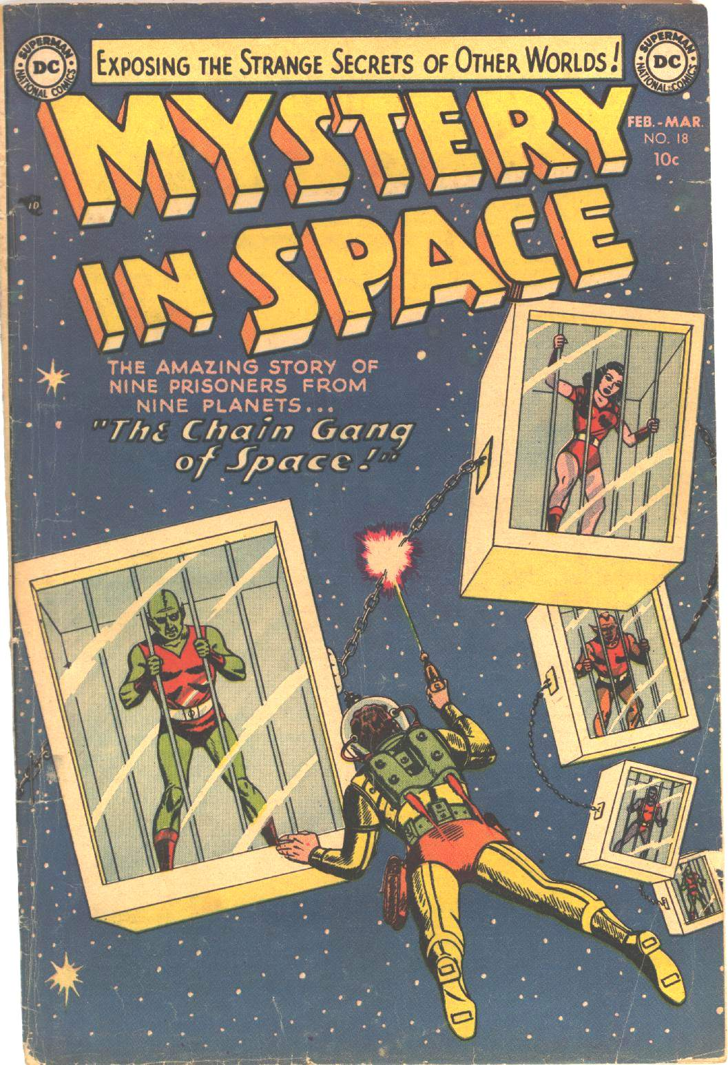 Mystery in Space (1951) issue 18 - Page 1