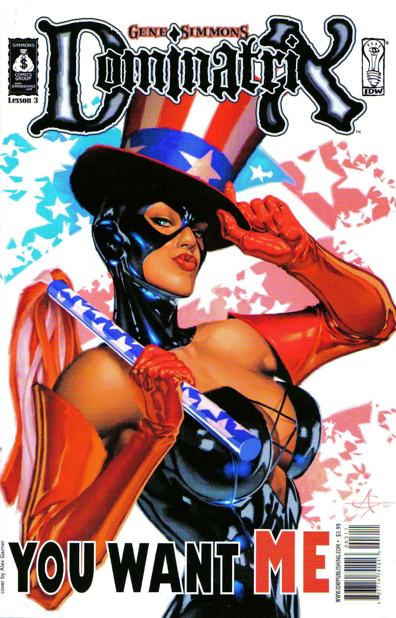 Read online Dominatrix comic -  Issue #3 - 1