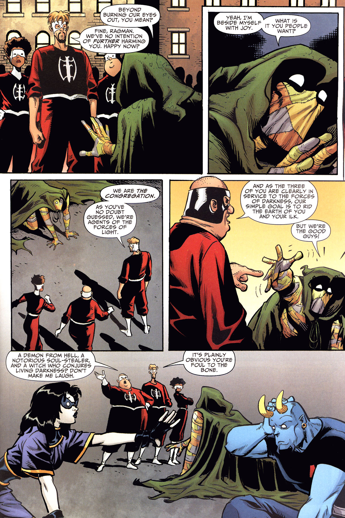 Read online Shadowpact comic -  Issue #8 - 4