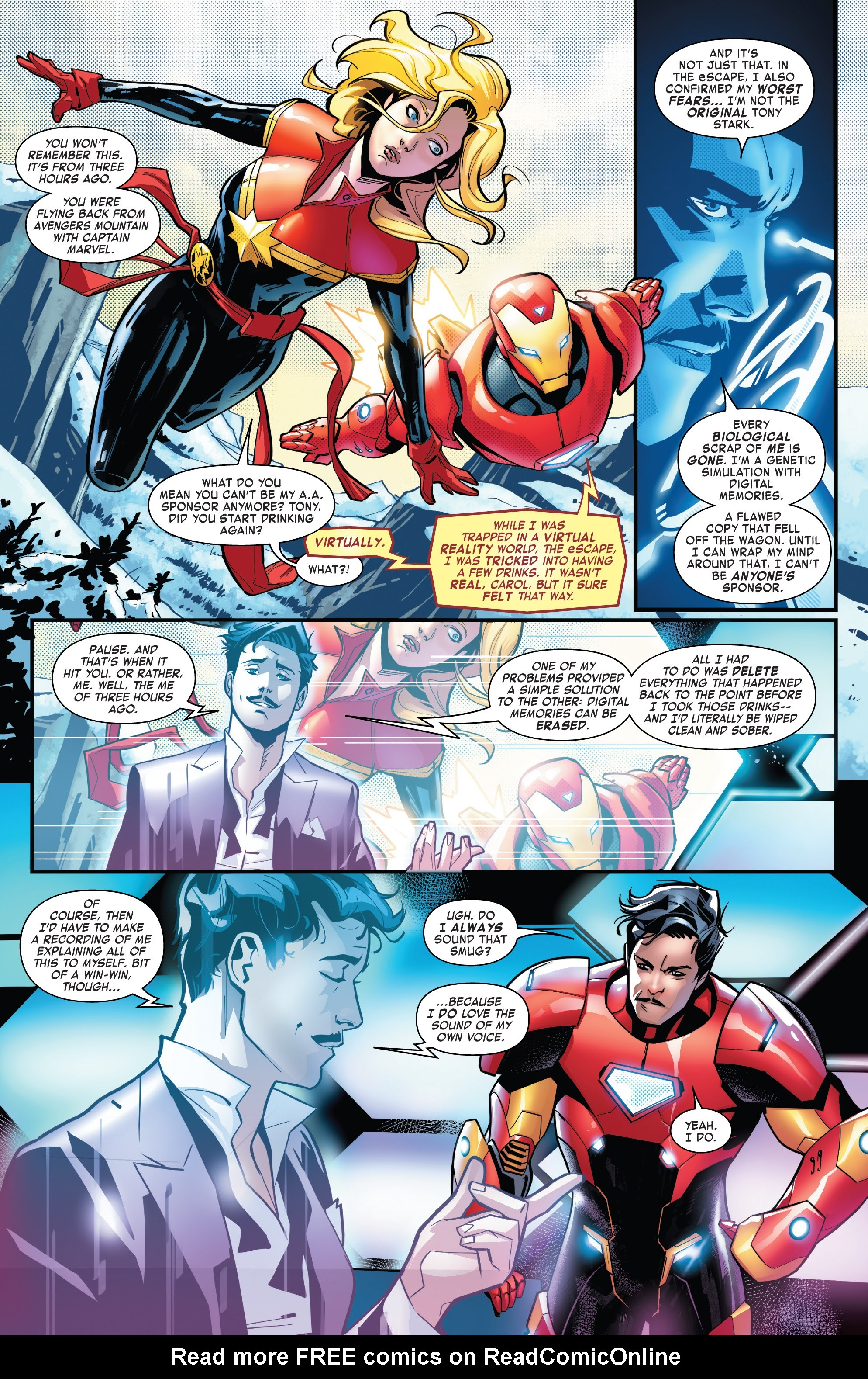 Read online Tony Stark: Iron Man comic -  Issue #14 - 3
