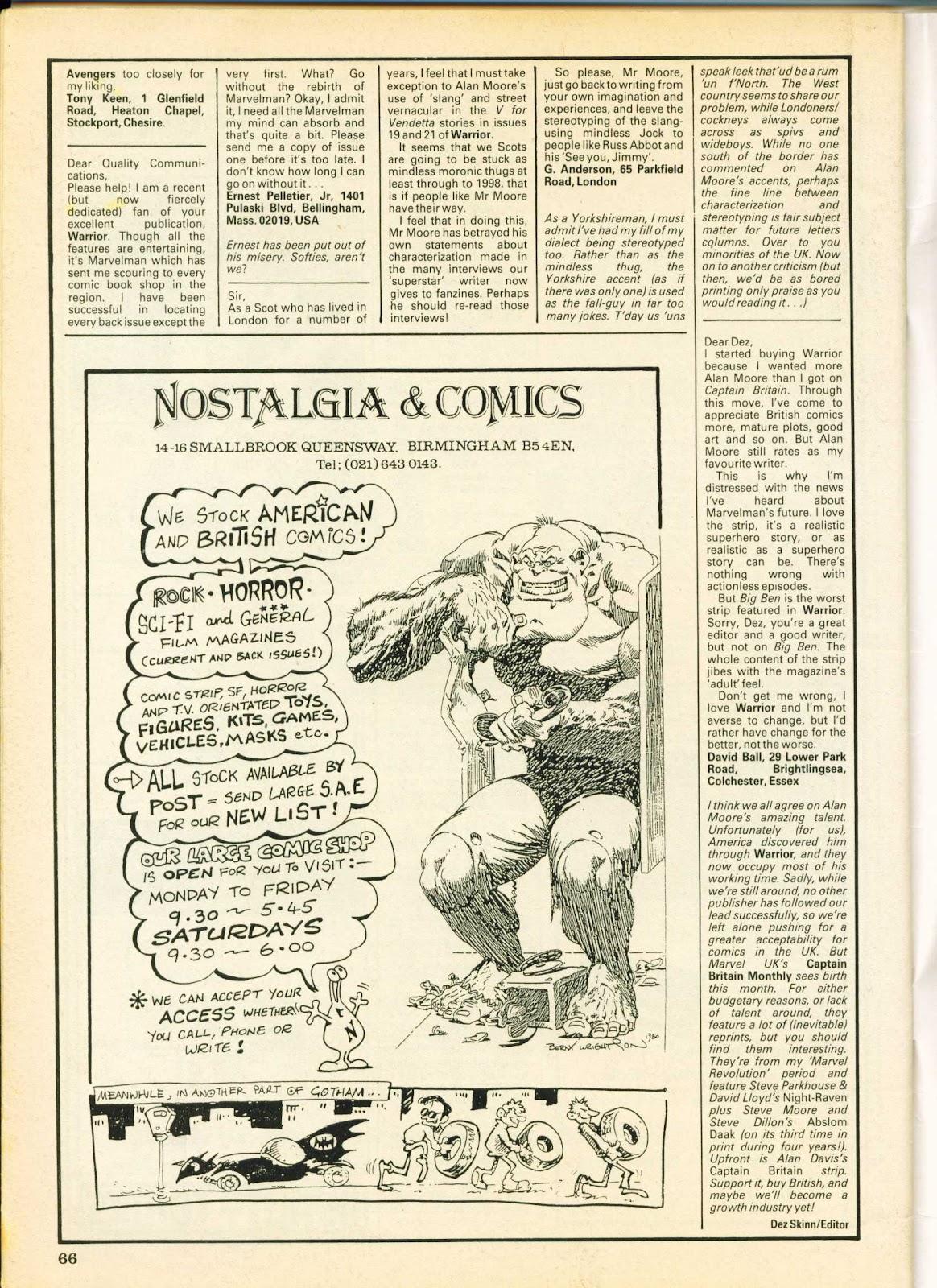 Warrior Issue #26 #27 - English 66