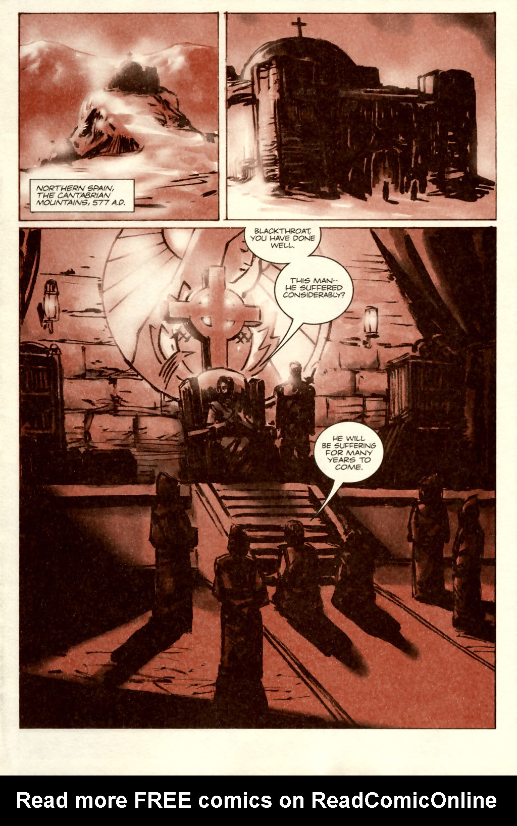 Read online Sea of Red comic -  Issue #5 - 3