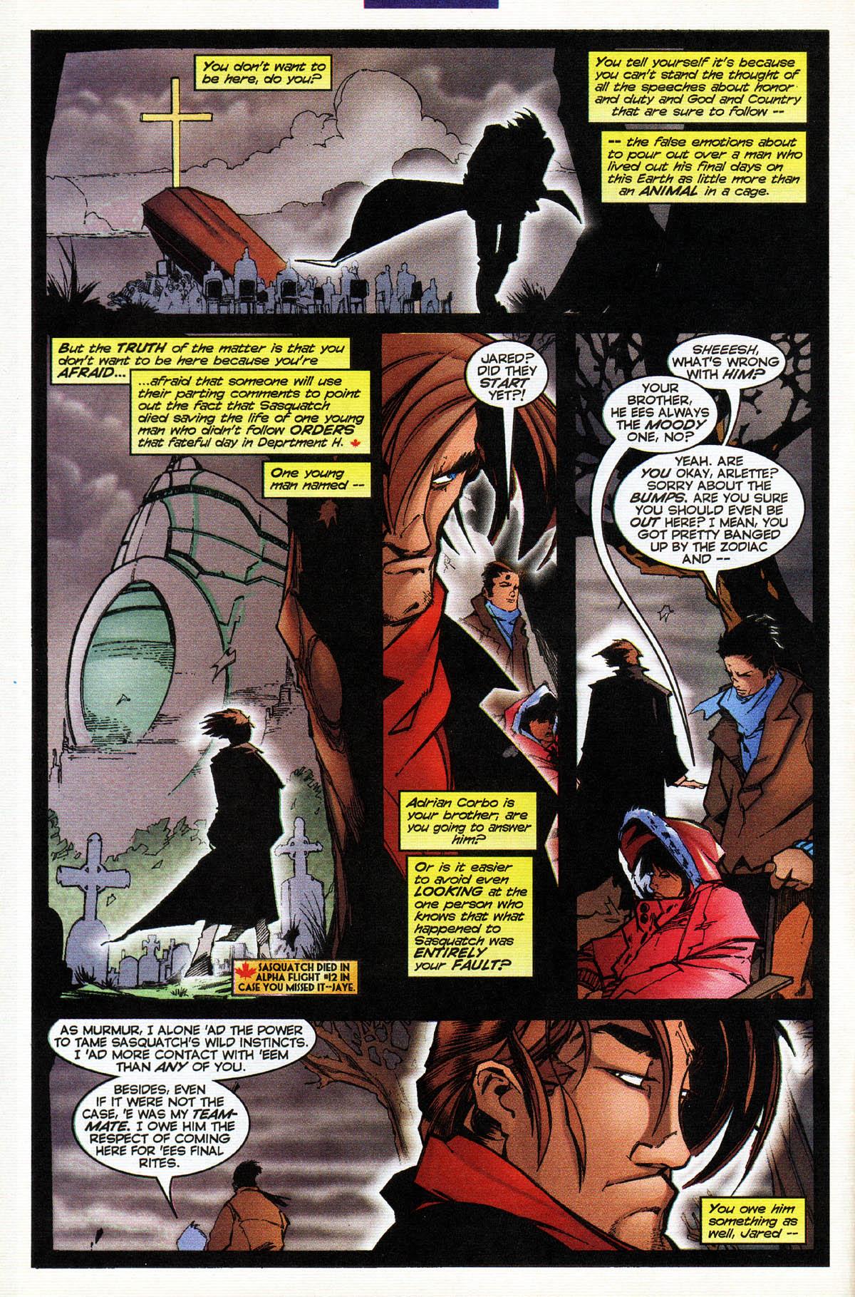 Read online Alpha Flight (1997) comic -  Issue #14 - 5