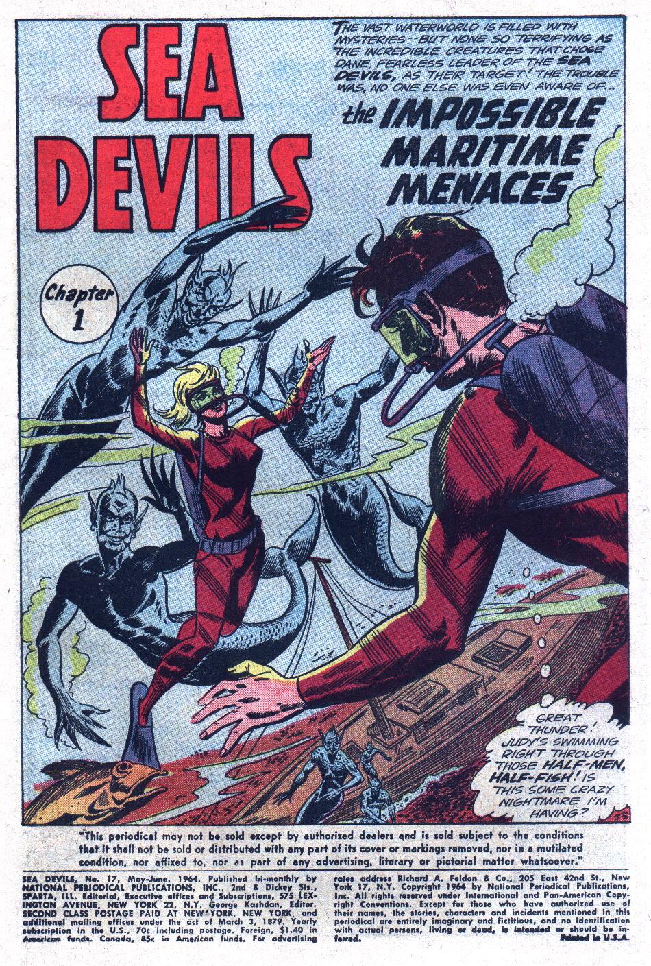 Read online Sea Devils comic -  Issue #17 - 3