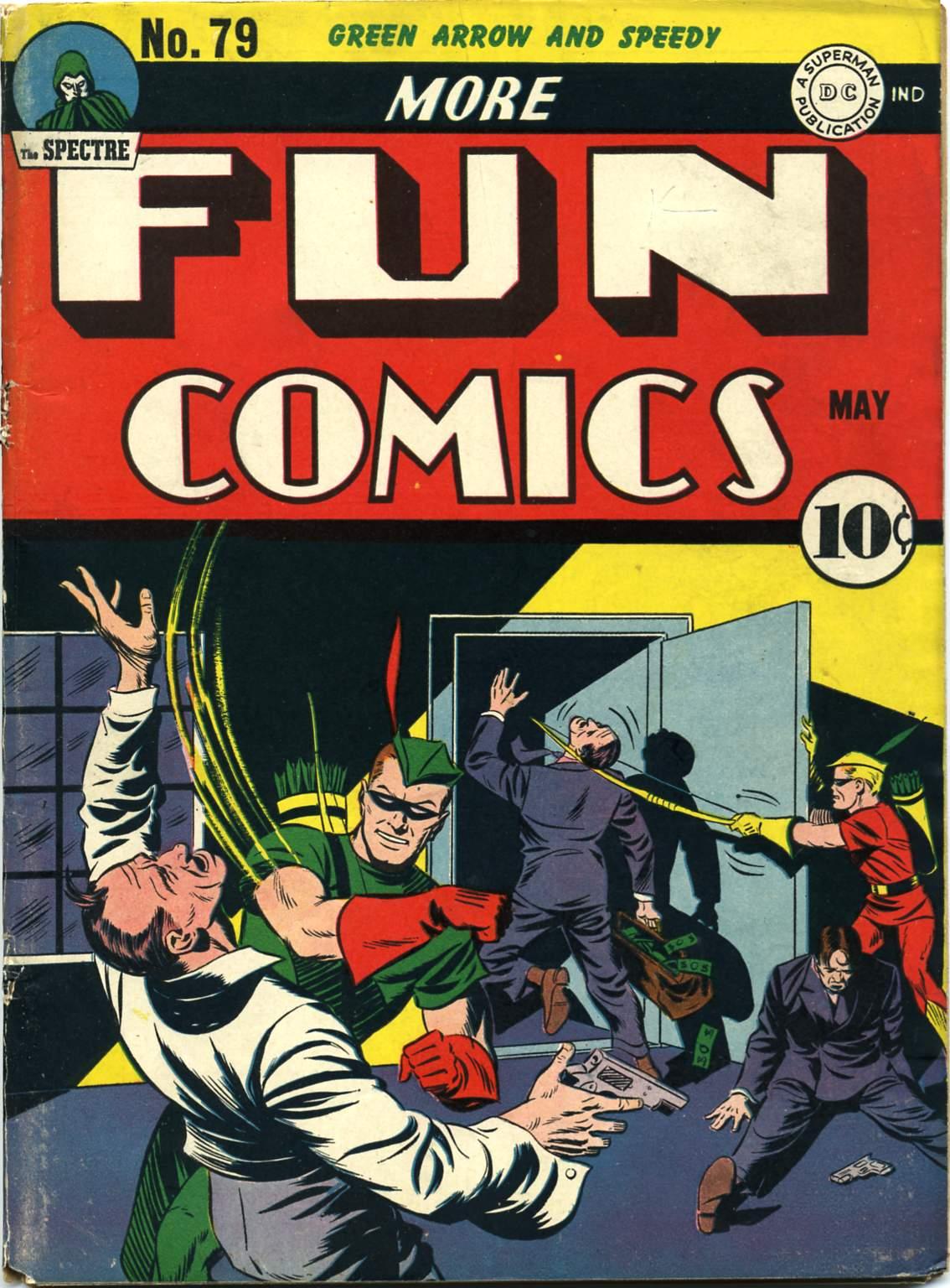 More Fun Comics 79 Page 1