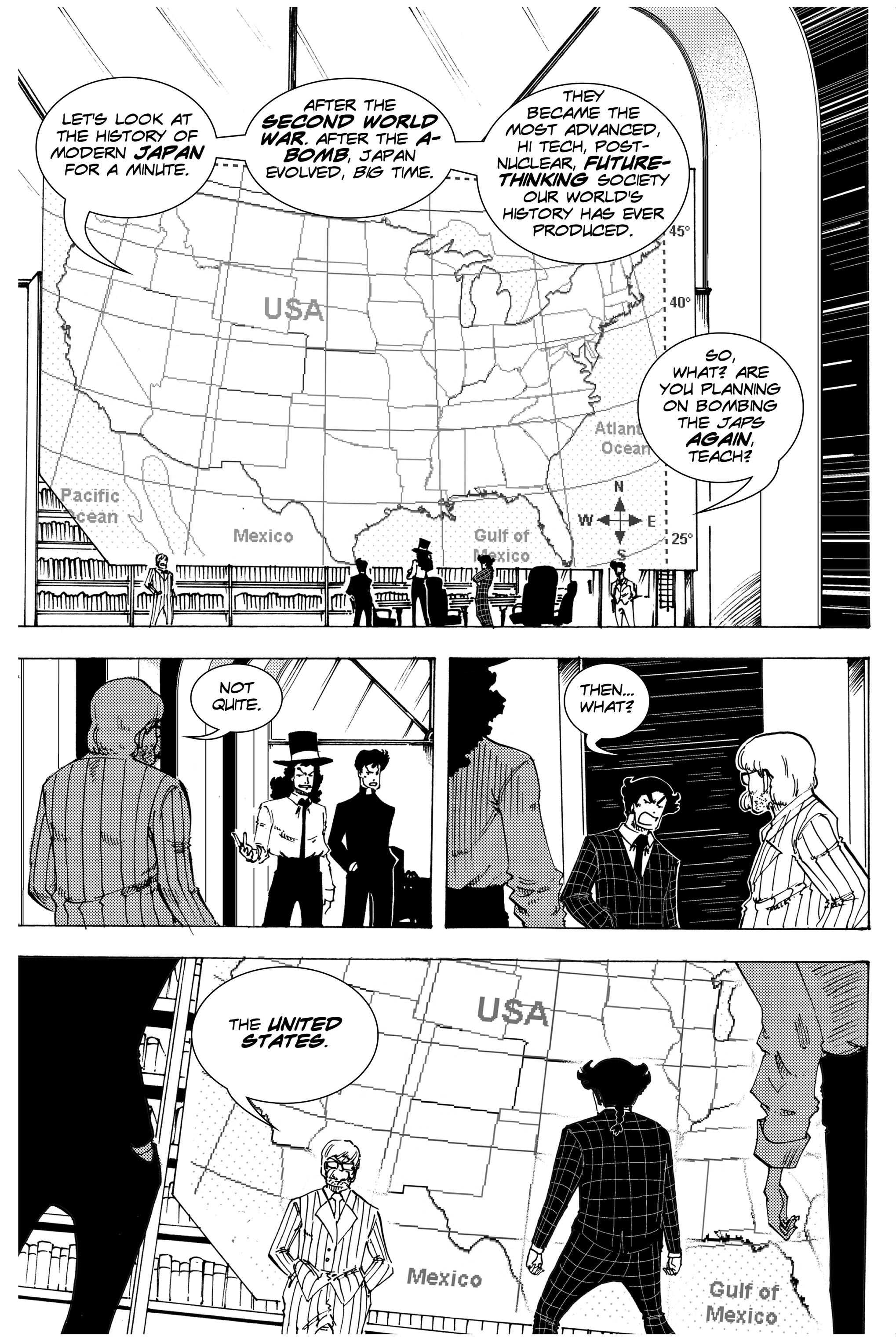 Read online Silvertongue 30xx Vol. 3 comic -  Issue # Full - 14