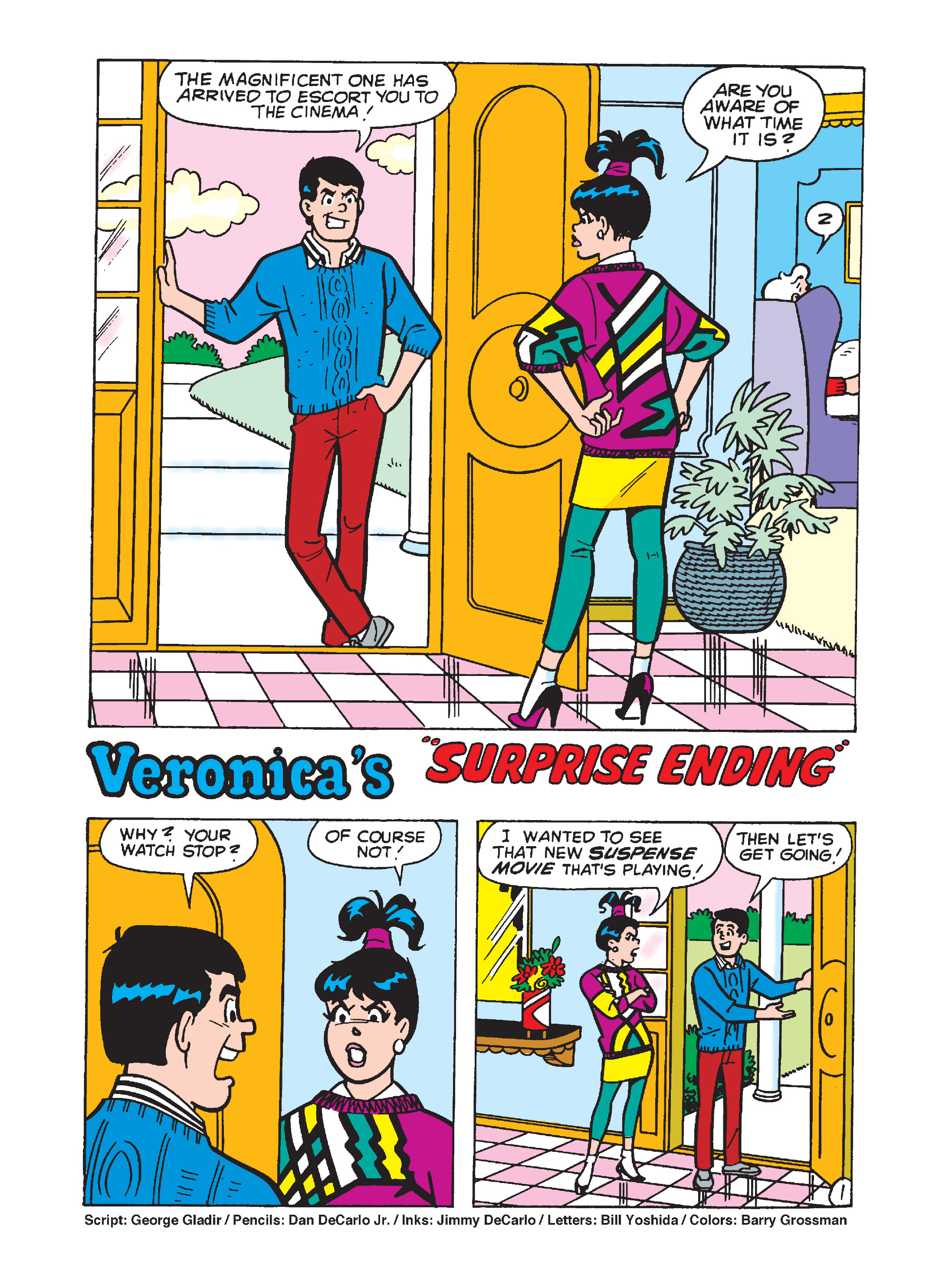 Read online Archie 1000 Page Comics Bonanza comic -  Issue #1 (Part 2) - 136