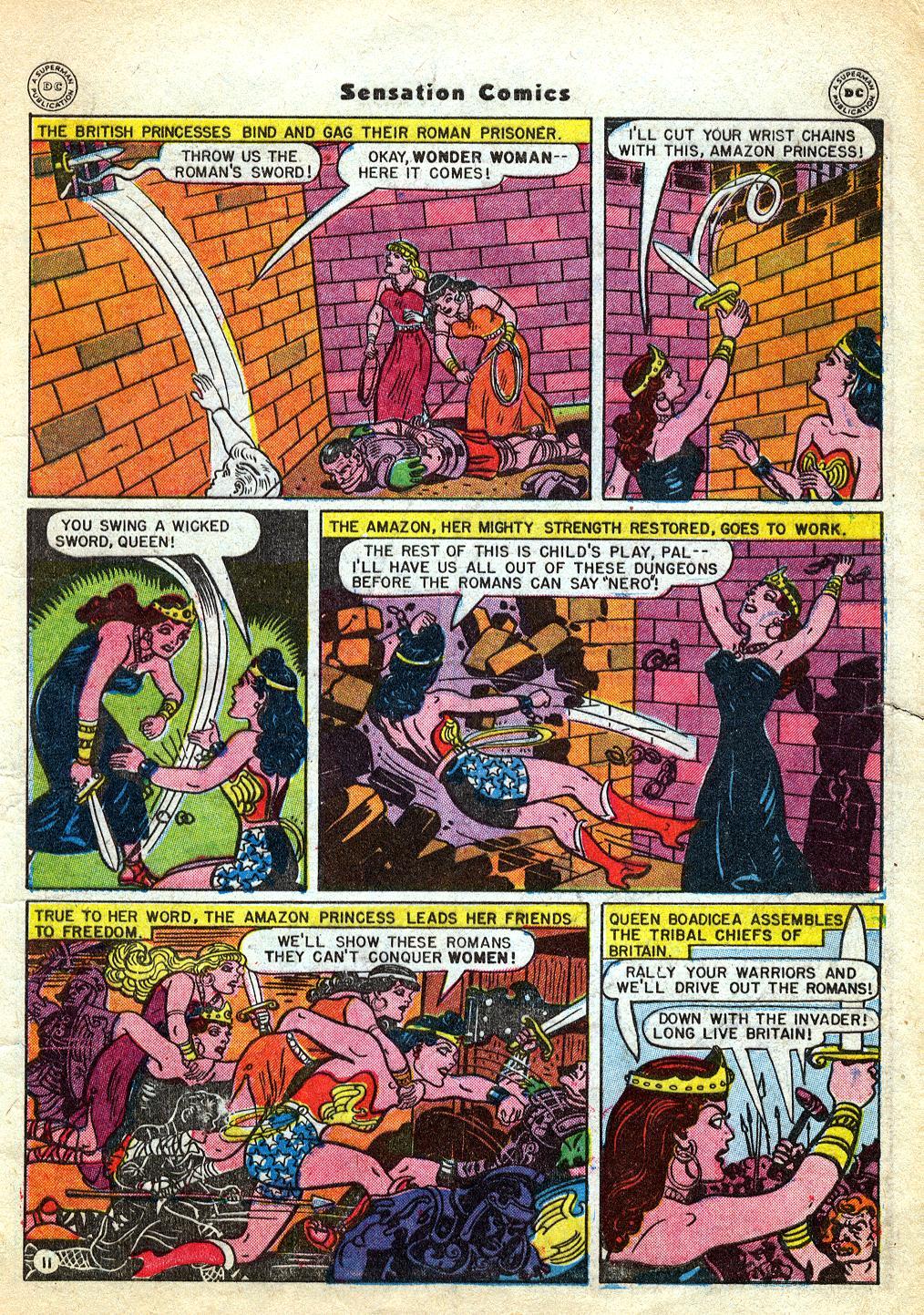 Read online Sensation (Mystery) Comics comic -  Issue #60 - 13