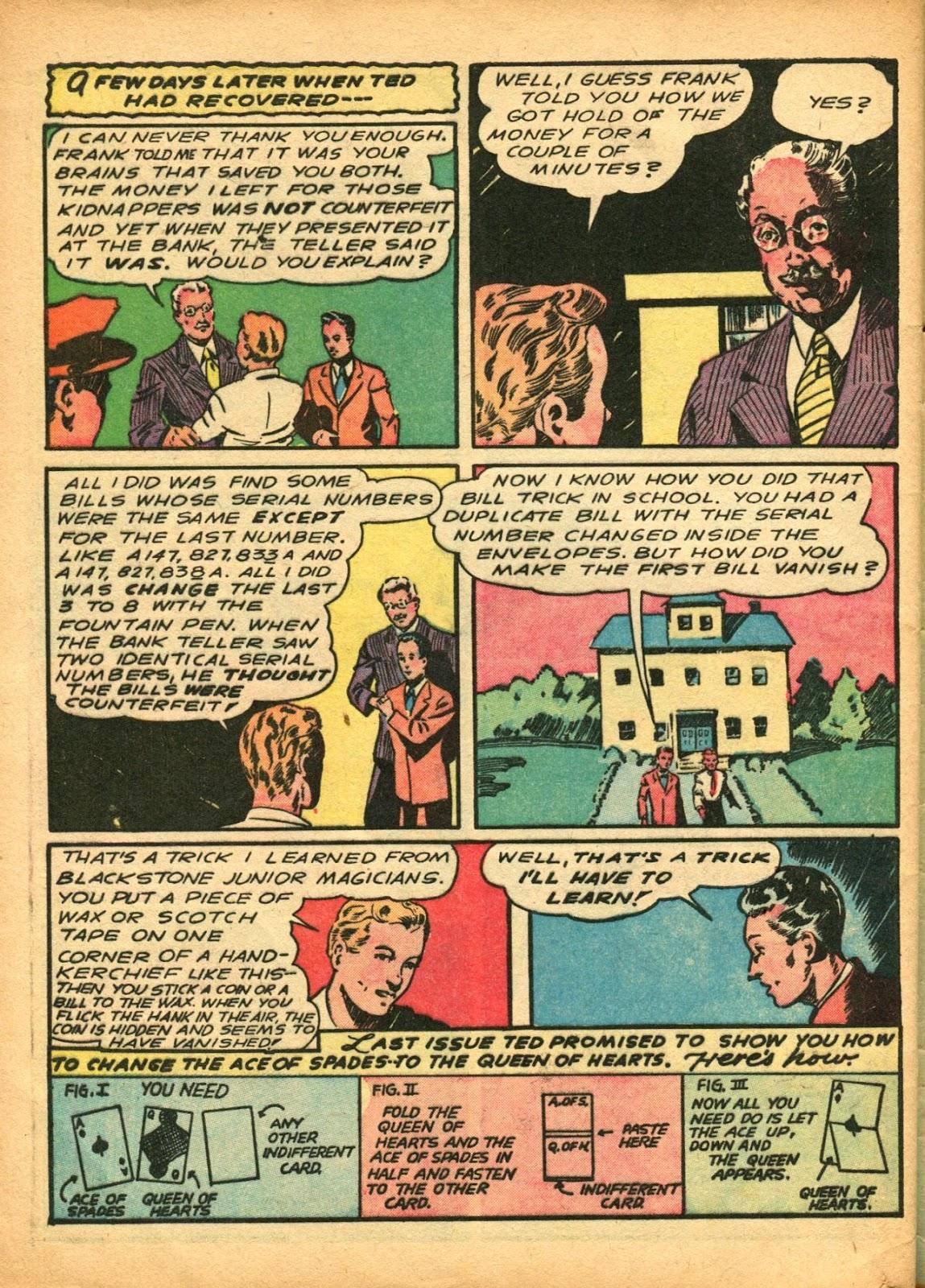 Read online Super-Magician Comics comic -  Issue #5 - 59