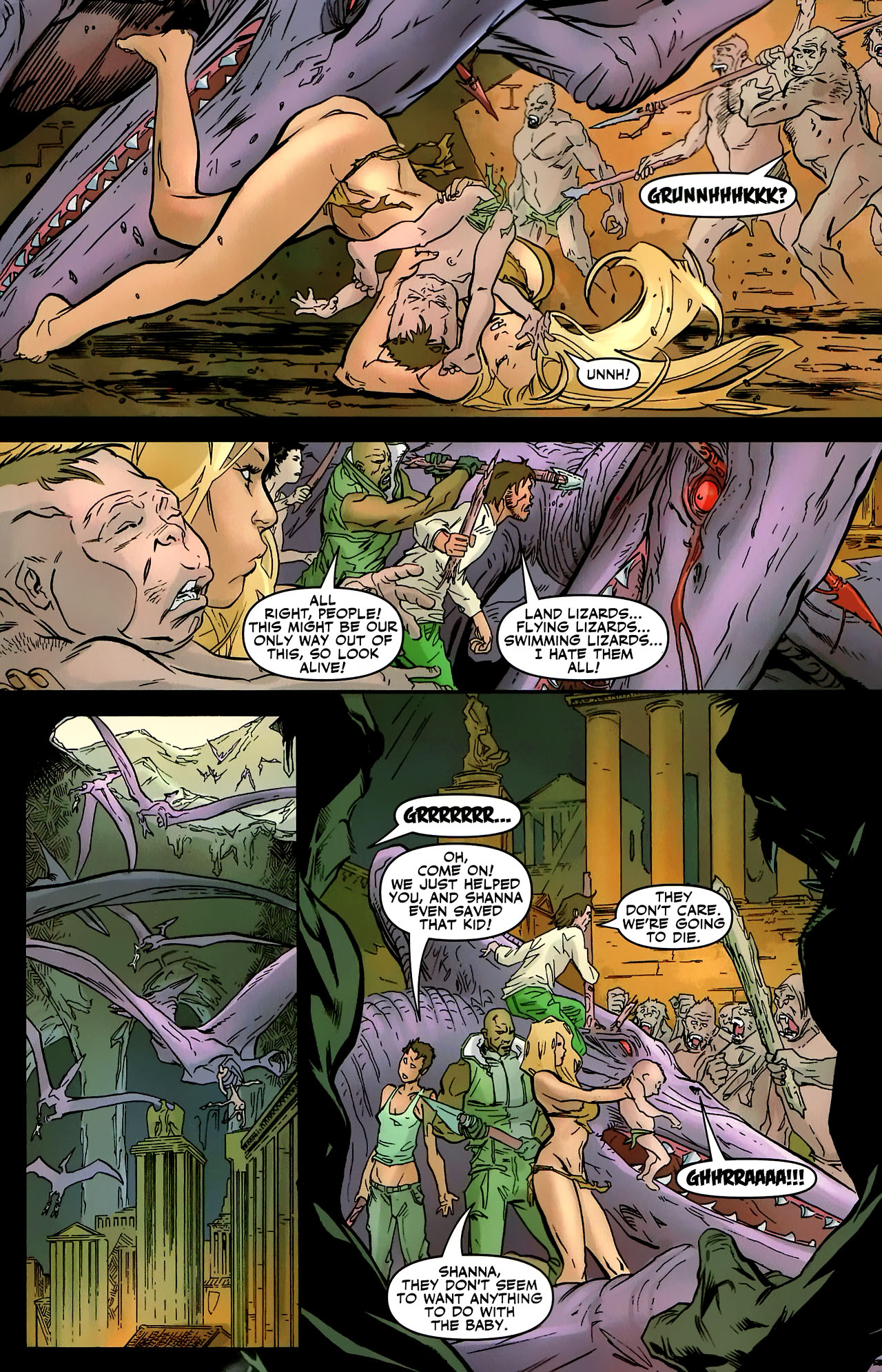 Read online Shanna the She-Devil: Survival of the Fittest comic -  Issue #3 - 13
