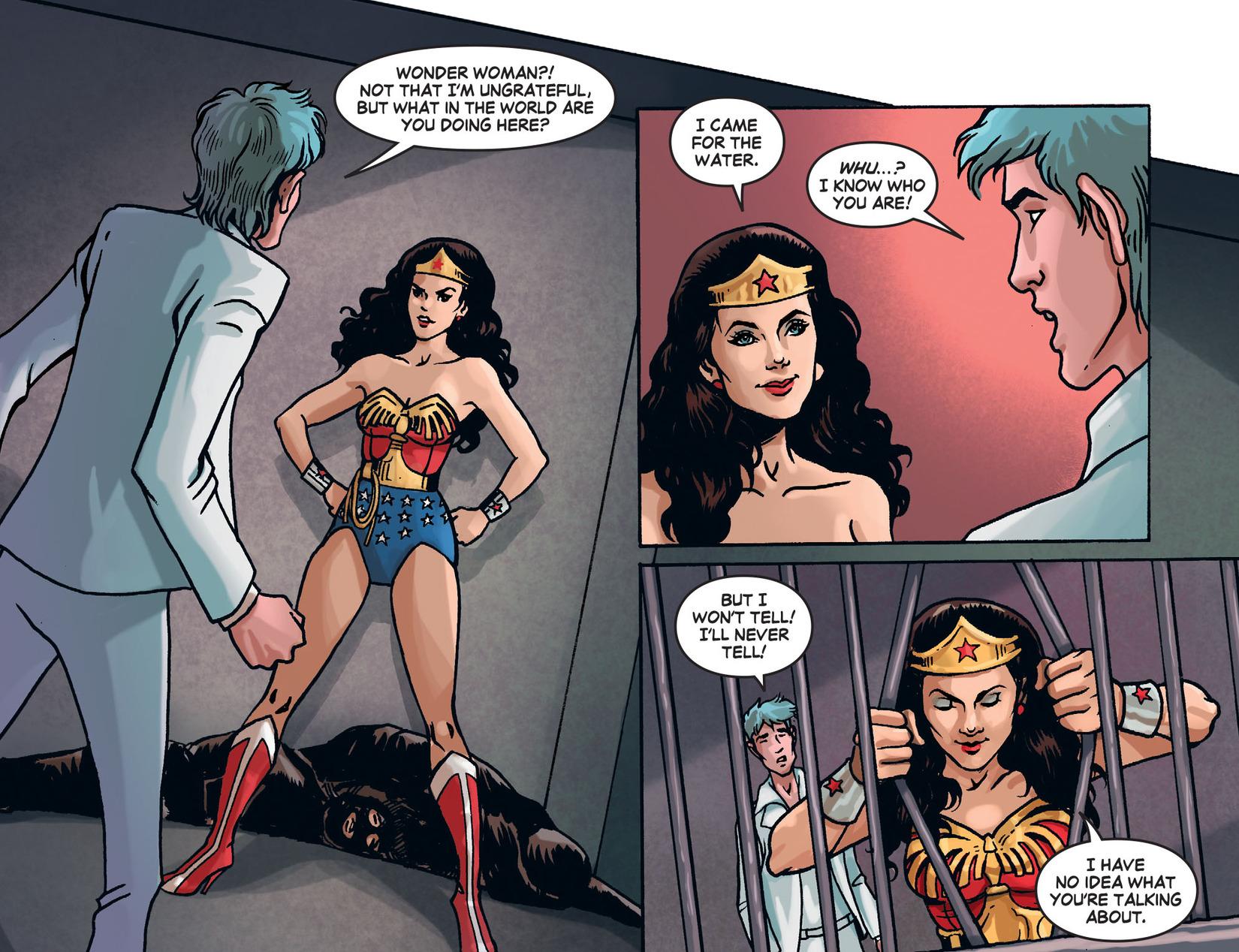 Read online Wonder Woman '77 [I] comic -  Issue #25 - 11