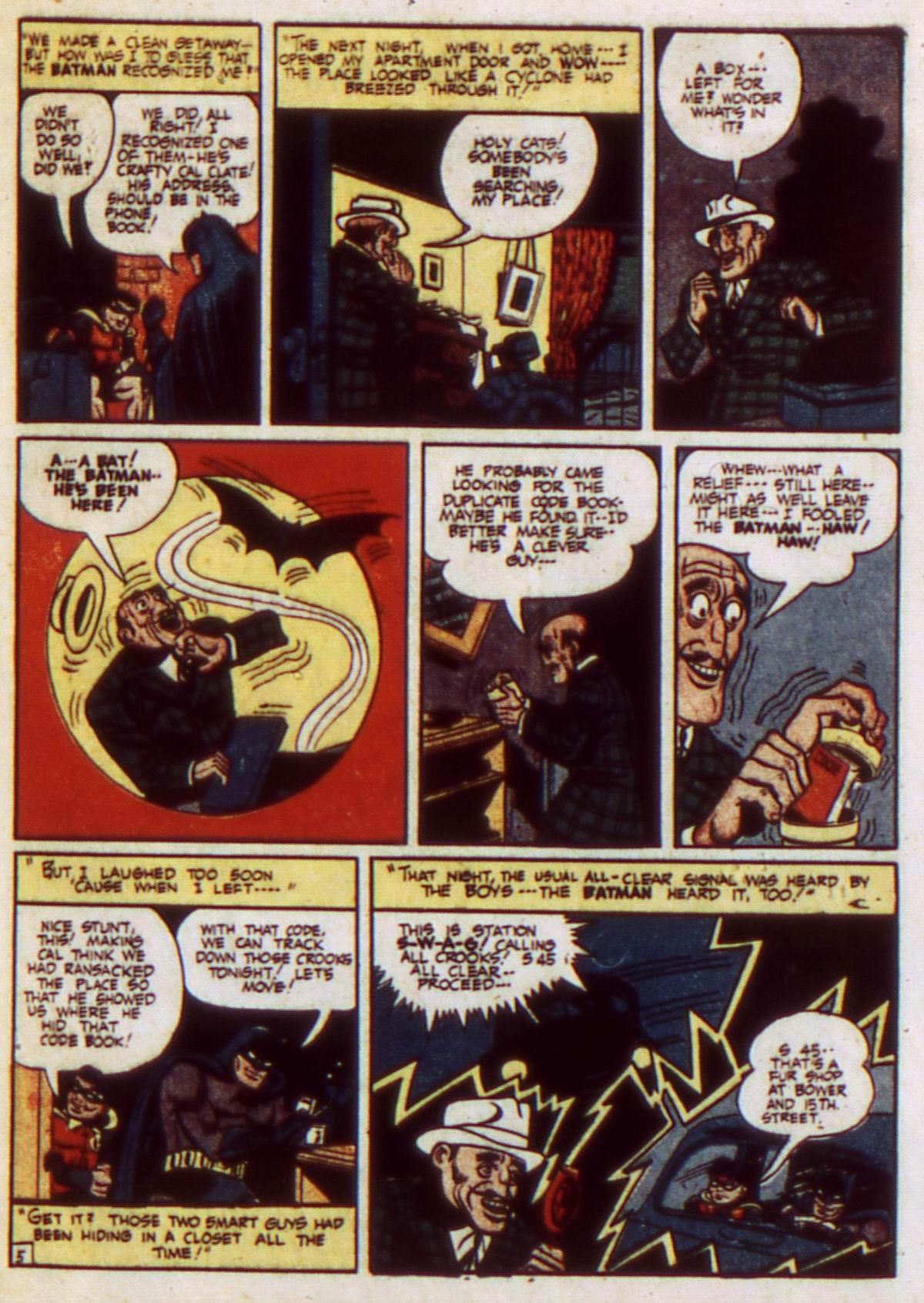 Detective Comics (1937) 61 Page 6