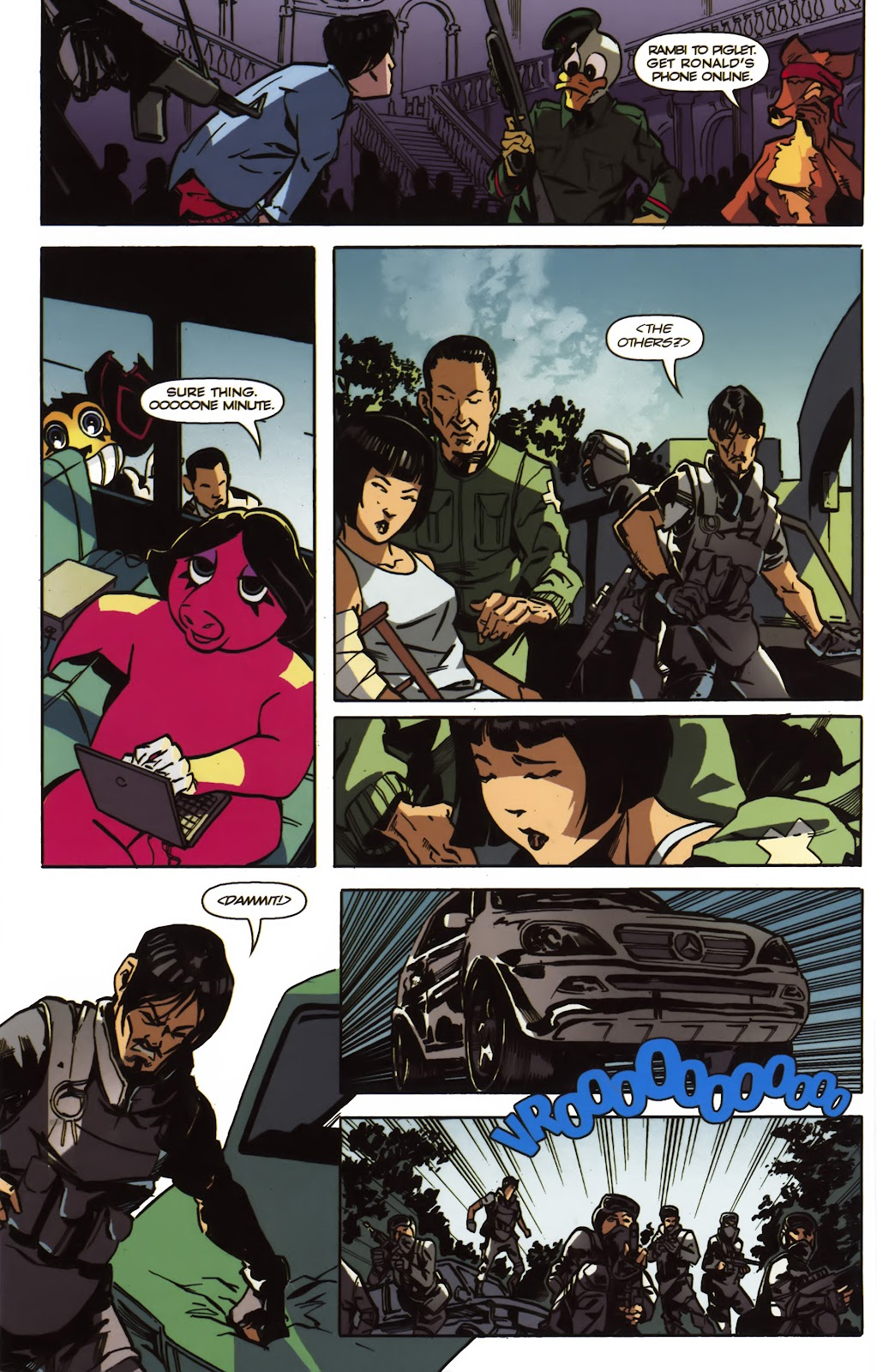 Read online Ricky Rouse Has A Gun comic -  Issue # TPB (Part 2) - 9