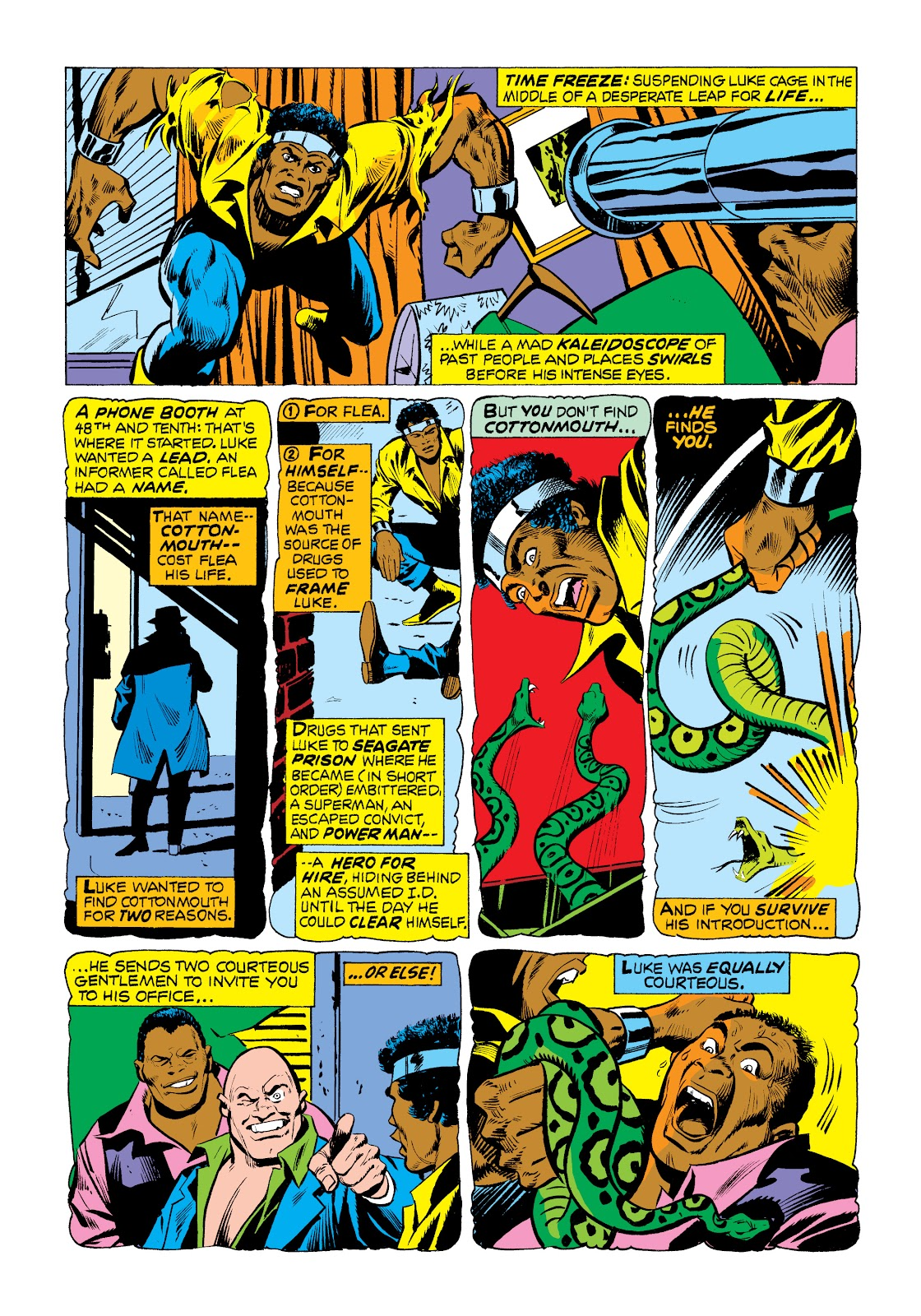 Read online Marvel Masterworks: Luke Cage, Power Man comic -  Issue # TPB 2 (Part 1) - 70