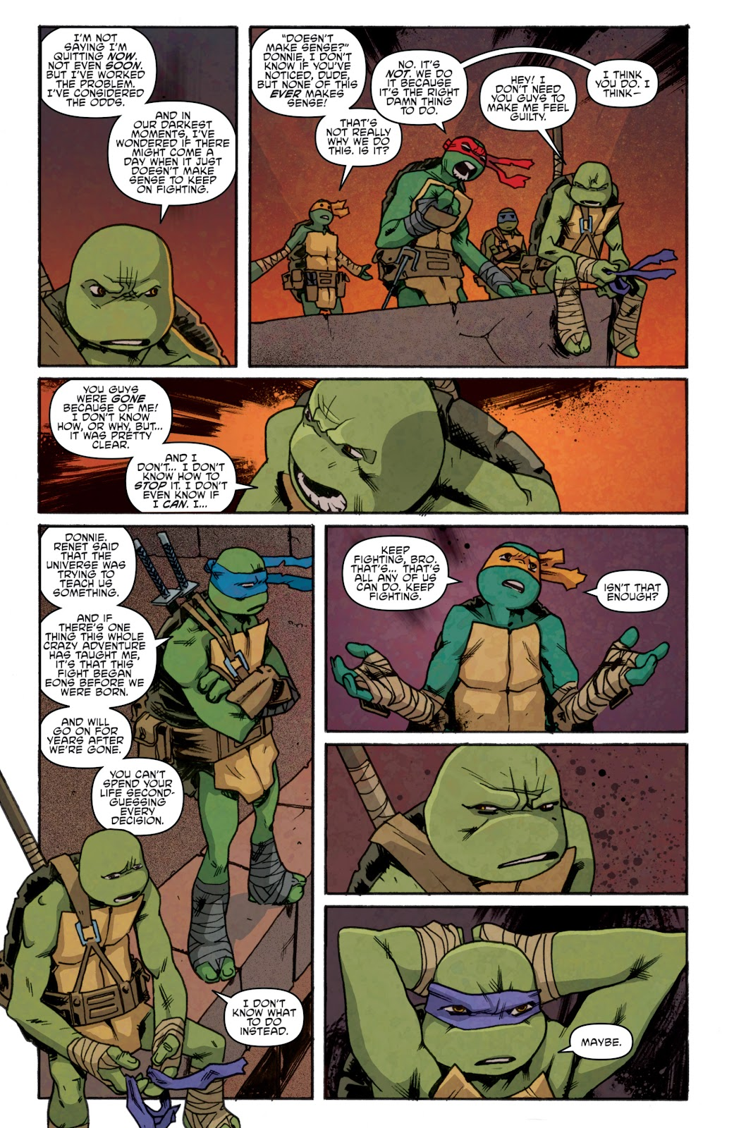 Read online Teenage Mutant Ninja Turtles: The IDW Collection comic -  Issue # TPB 5 (Part 1) - 96