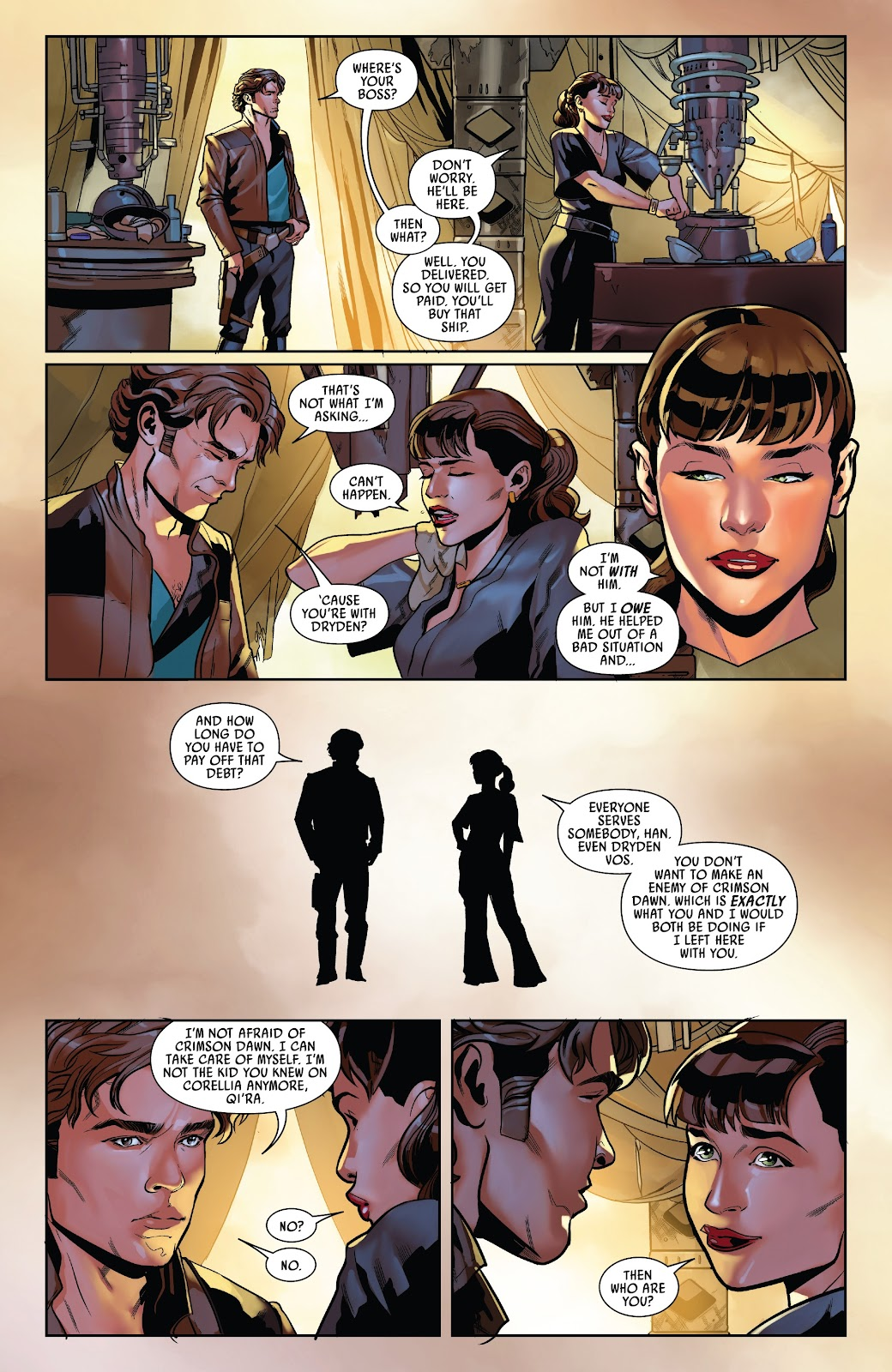 Read online Solo: A Star Wars Story Adaptation comic -  Issue #5 - 19