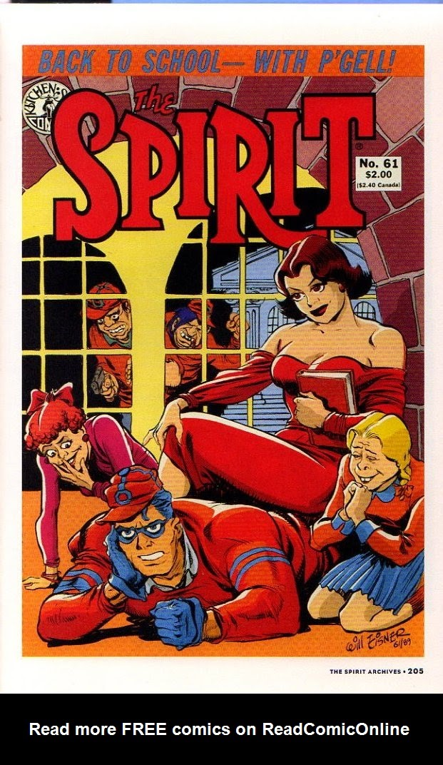 Read online Will Eisner's The Spirit Archives comic -  Issue # TPB 26 (Part 3) - 12