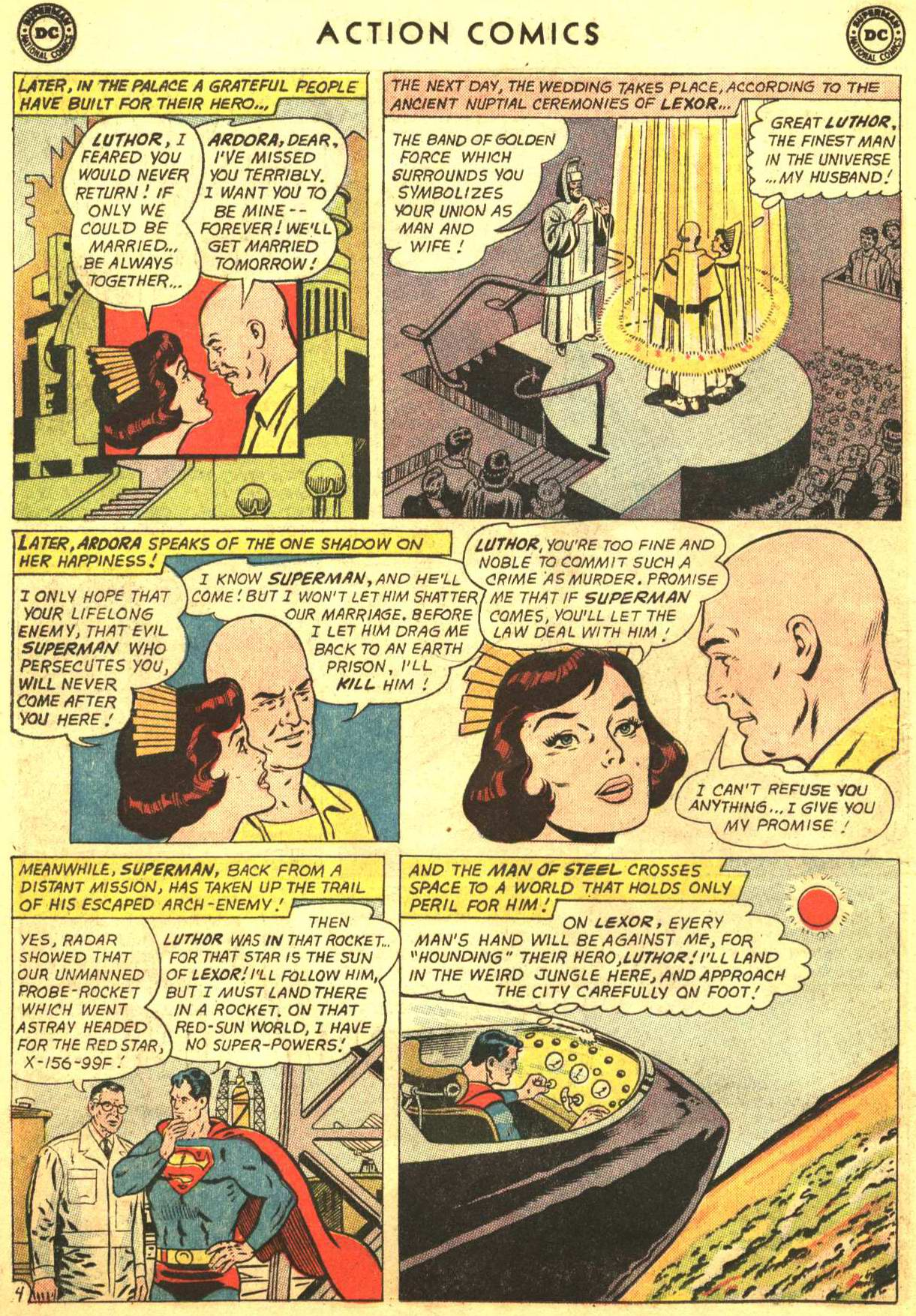 Read online Action Comics (1938) comic -  Issue #318 - 5