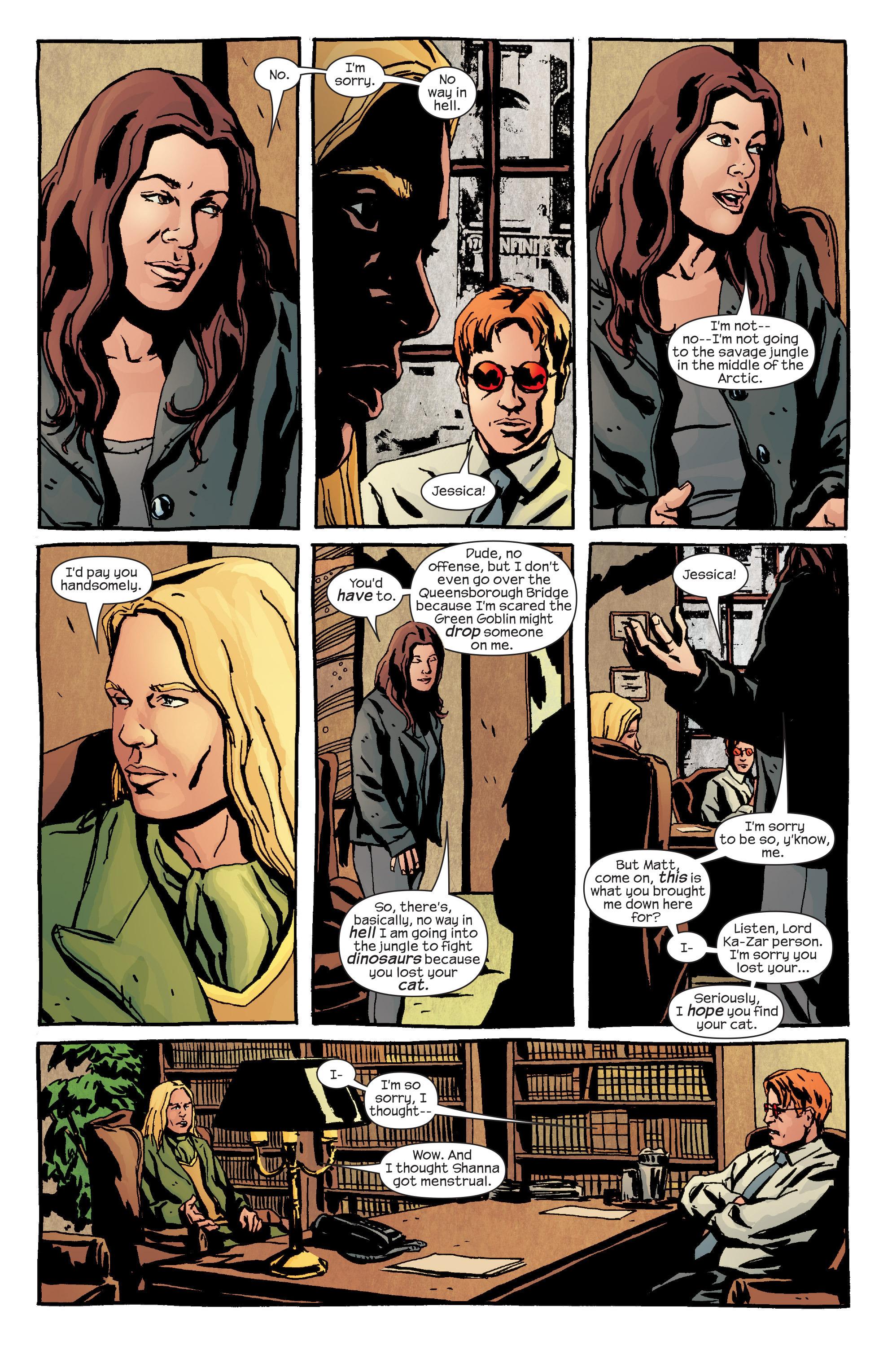 Read online Alias comic -  Issue #24 - 6