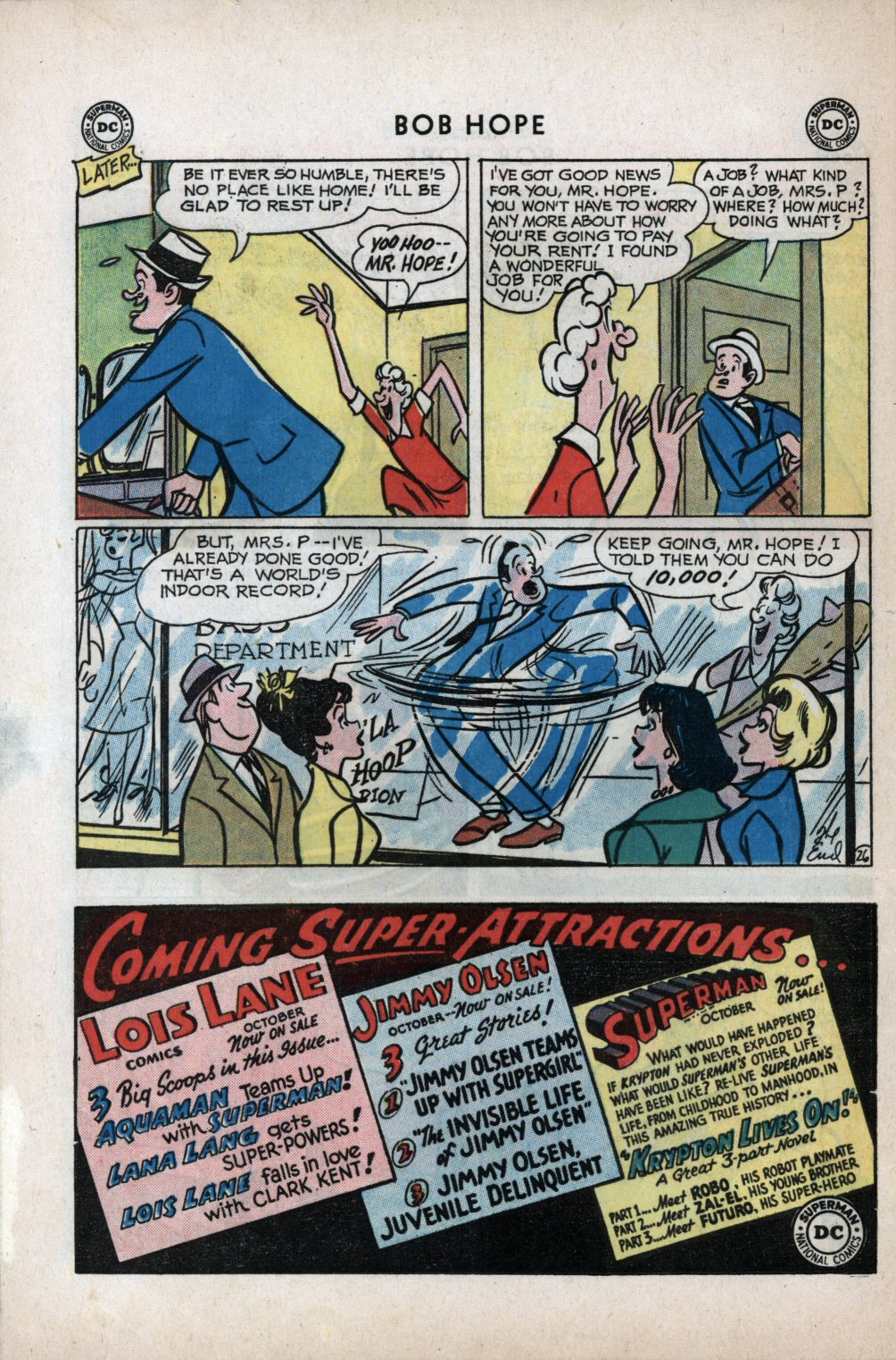 The Adventures of Bob Hope issue 59 - Page 32