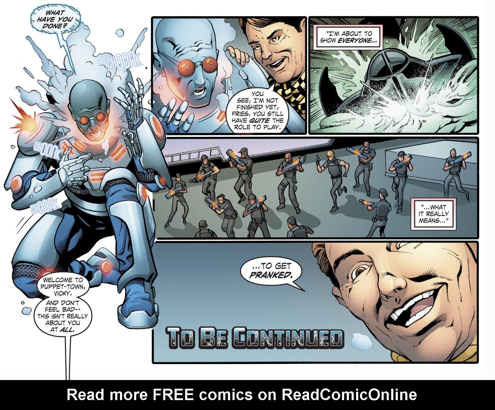 Read online Smallville: Season 11 comic -  Issue #22 - 22