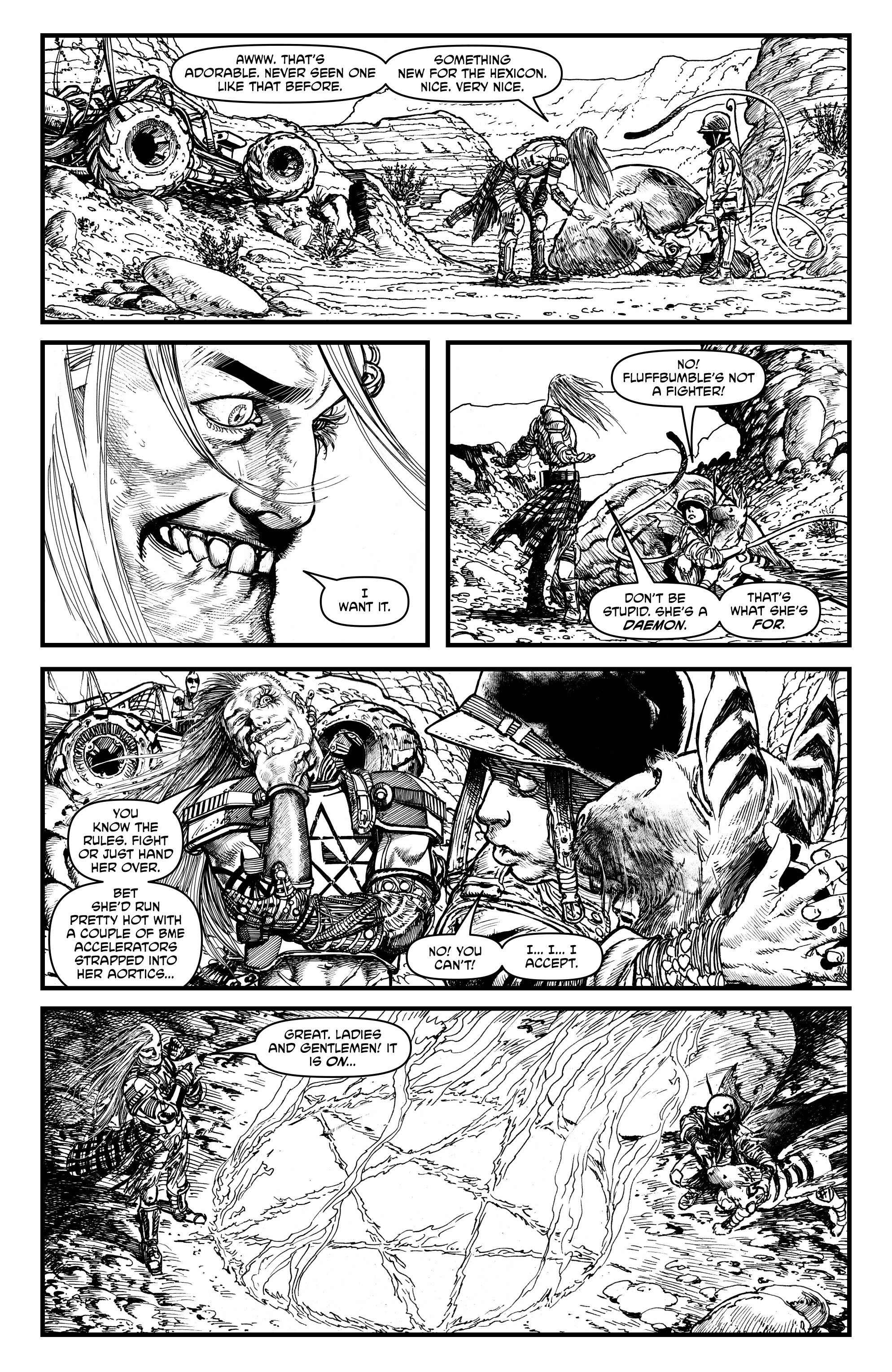Read online Alan Moore's Cinema Purgatorio comic -  Issue #1 - 27