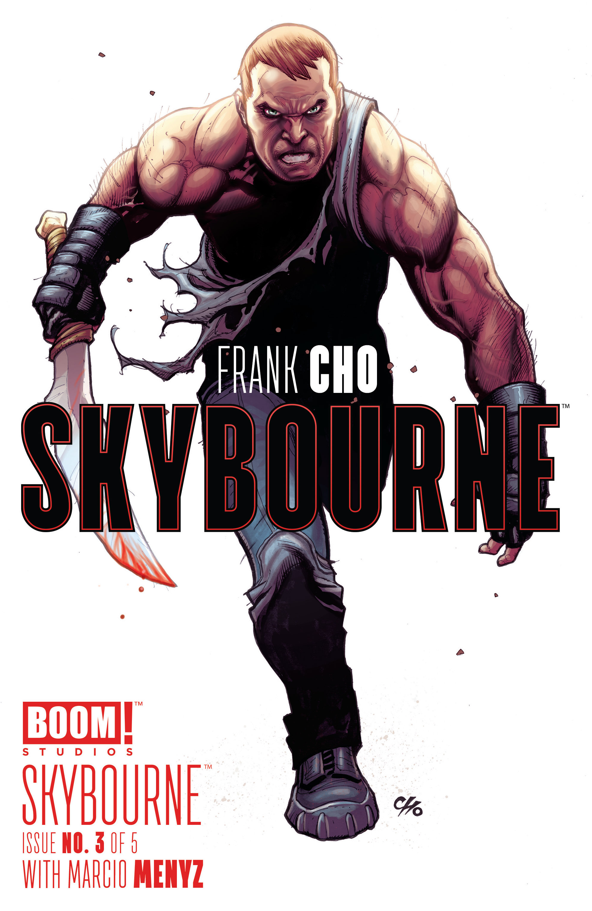 Read online Skybourne comic -  Issue #3 - 1