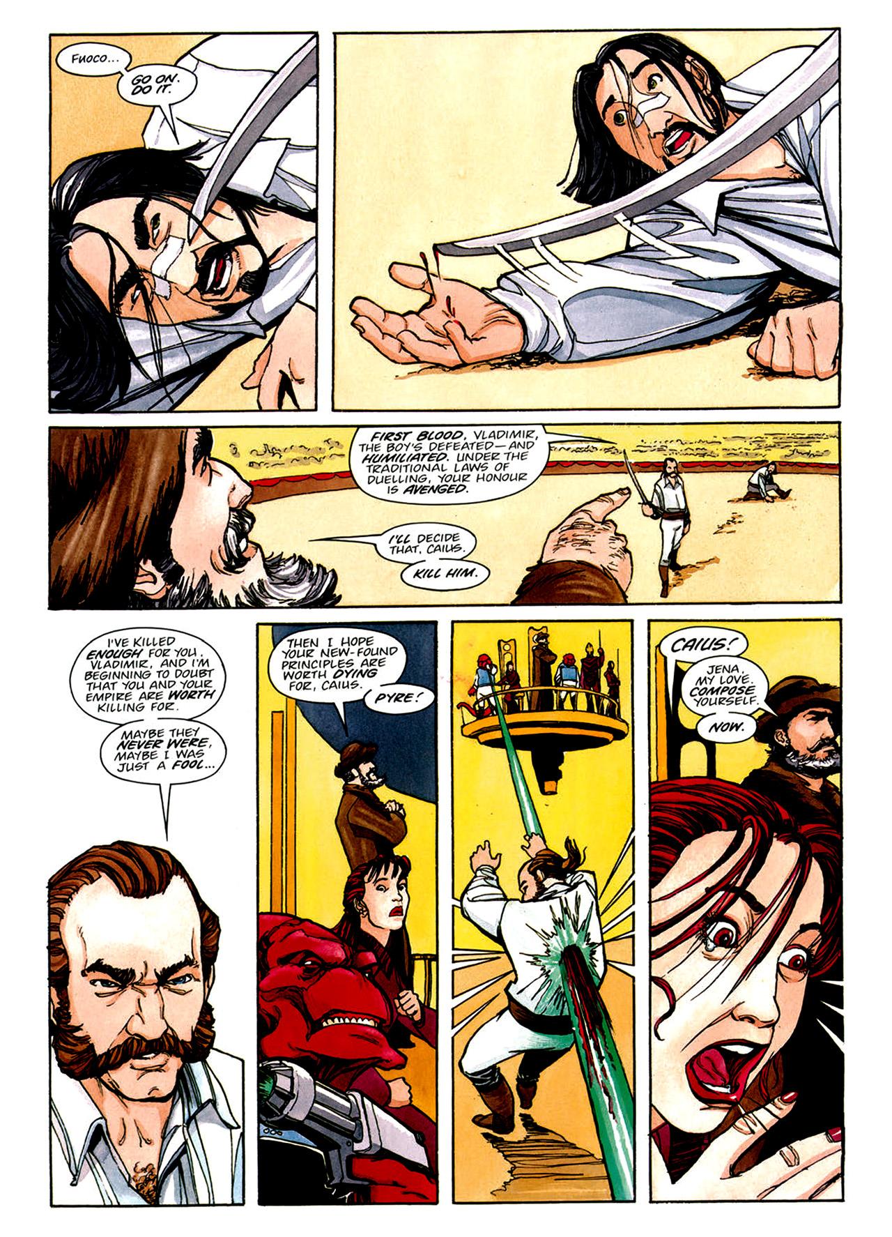 Read online Nikolai Dante comic -  Issue # TPB 1 - 151