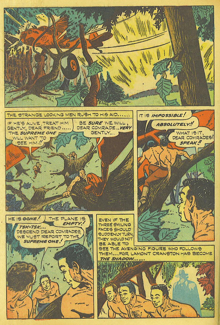 Read online Shadow Comics comic -  Issue #87 - 41