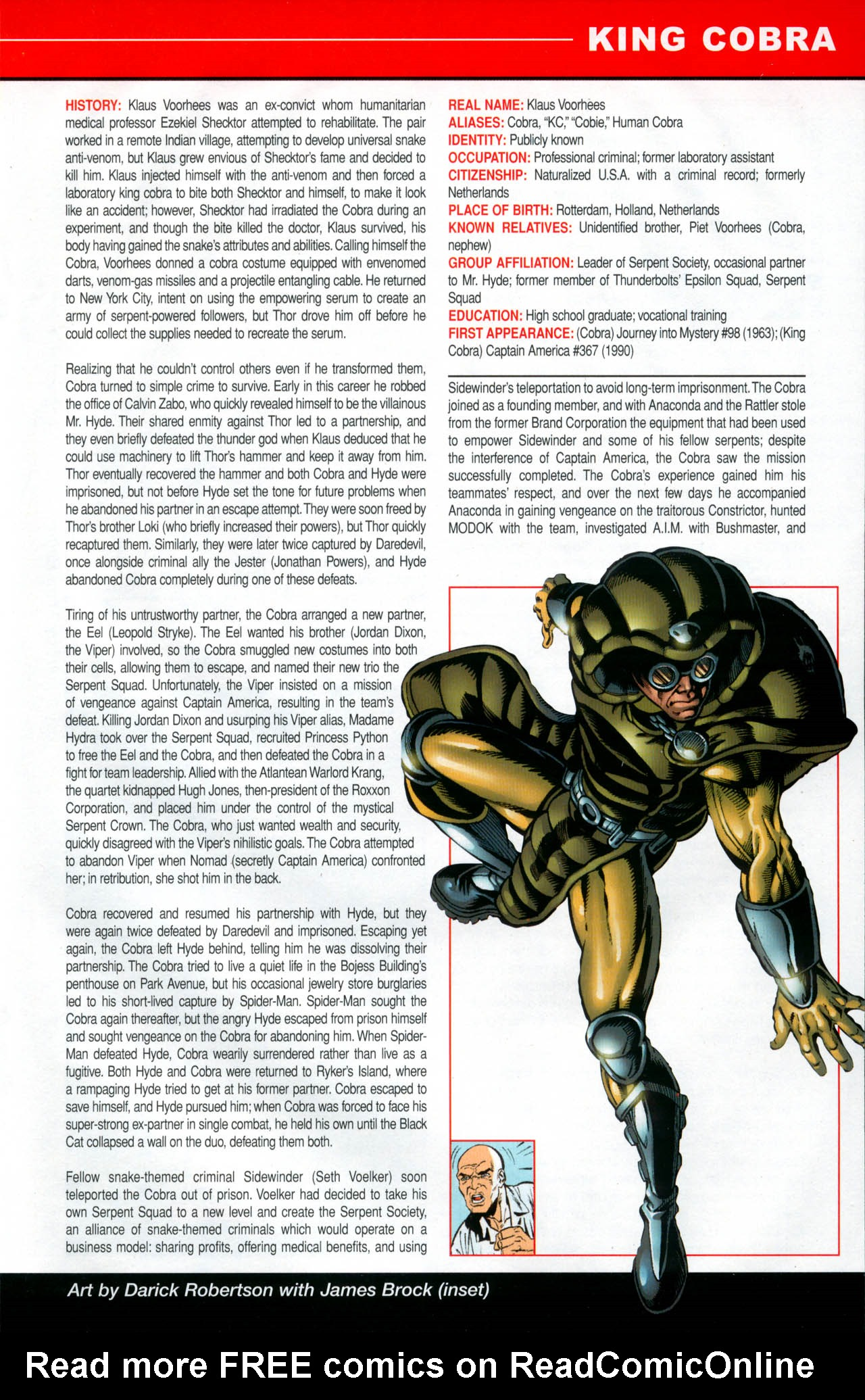 Read online All-New Official Handbook of the Marvel Universe A to Z: Update comic -  Issue #2 - 35