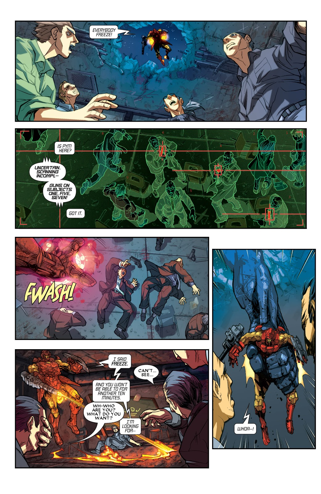 Iron Man: House of M Issue #1 #1 - English 19