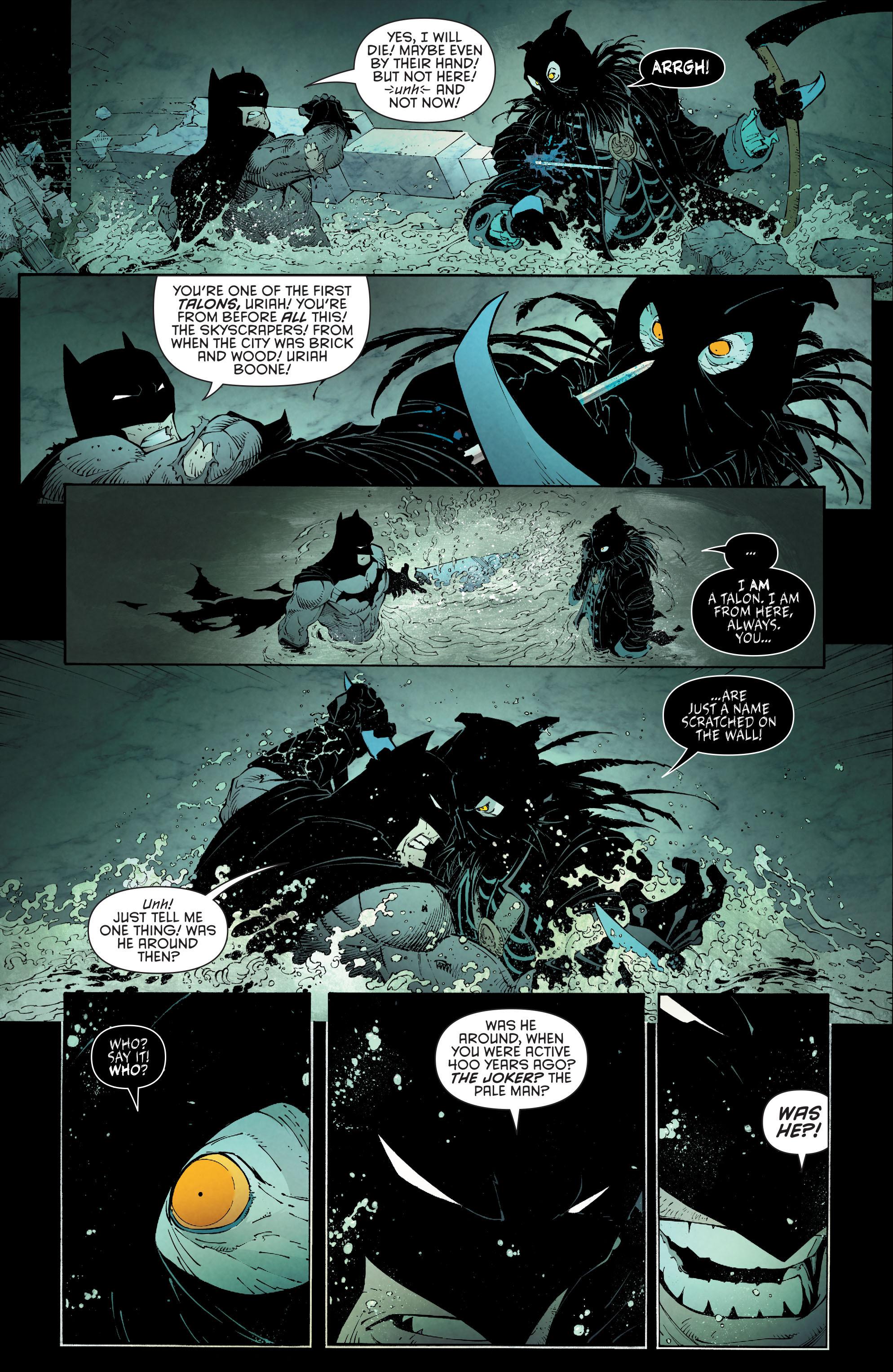Read online Batman (2011) comic -  Issue # _TPB 7 - 109
