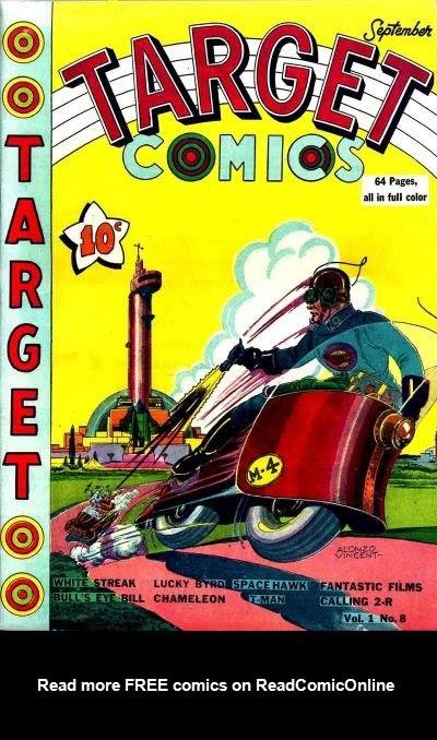 Target Comics 8 Page 1