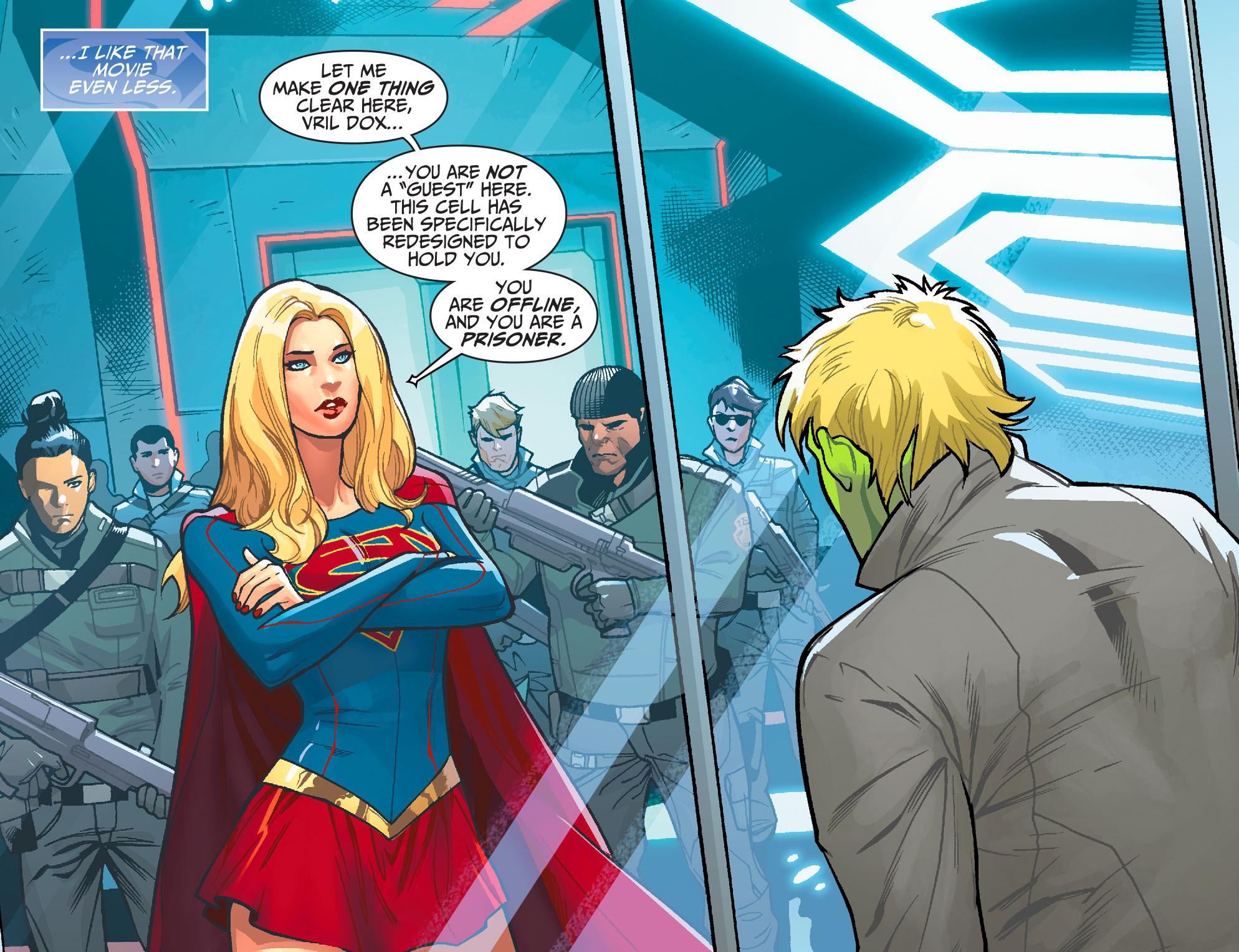 Read online Adventures of Supergirl comic -  Issue #6 - 5