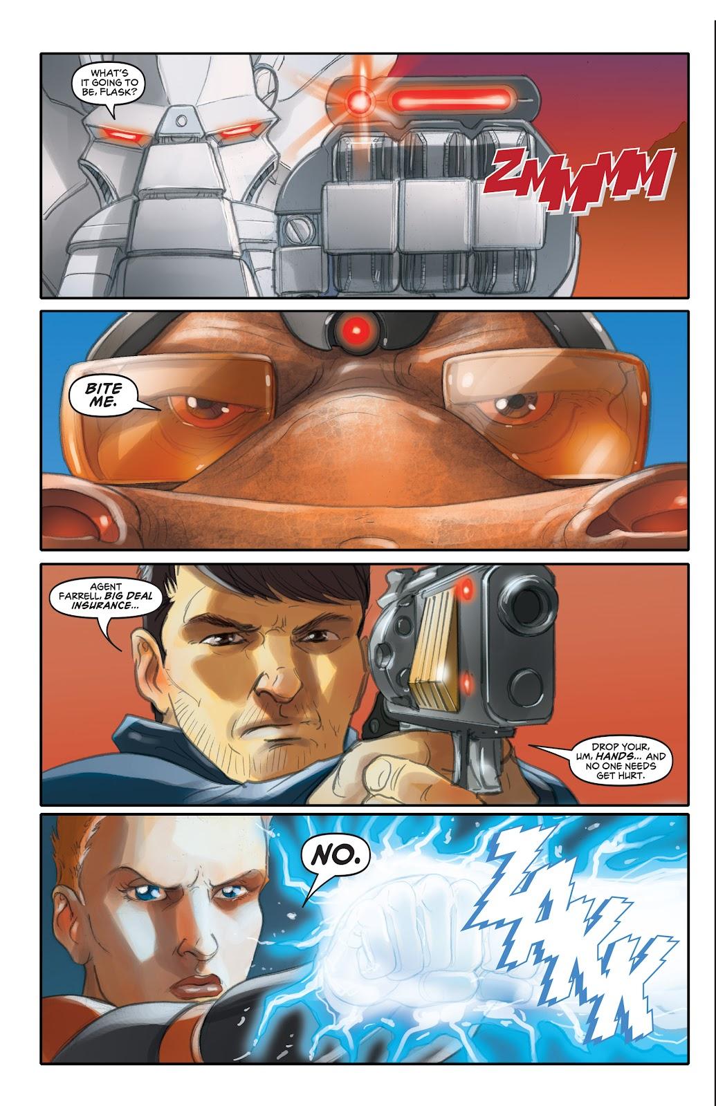 Read online Elephantmen 2261 Season Two: The Pentalion Job comic -  Issue # TPB - 71