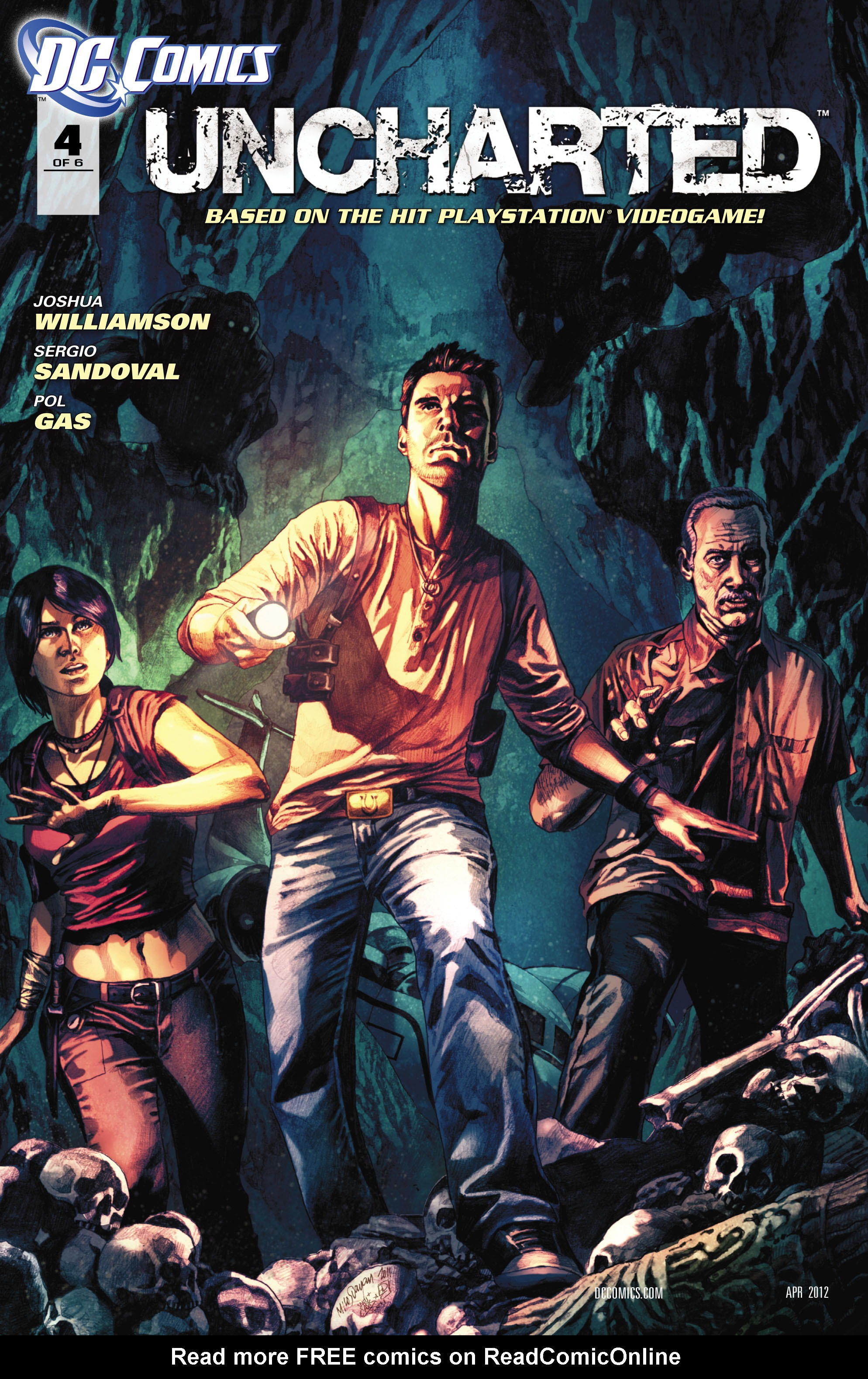 Read online Uncharted comic -  Issue #4 - 2