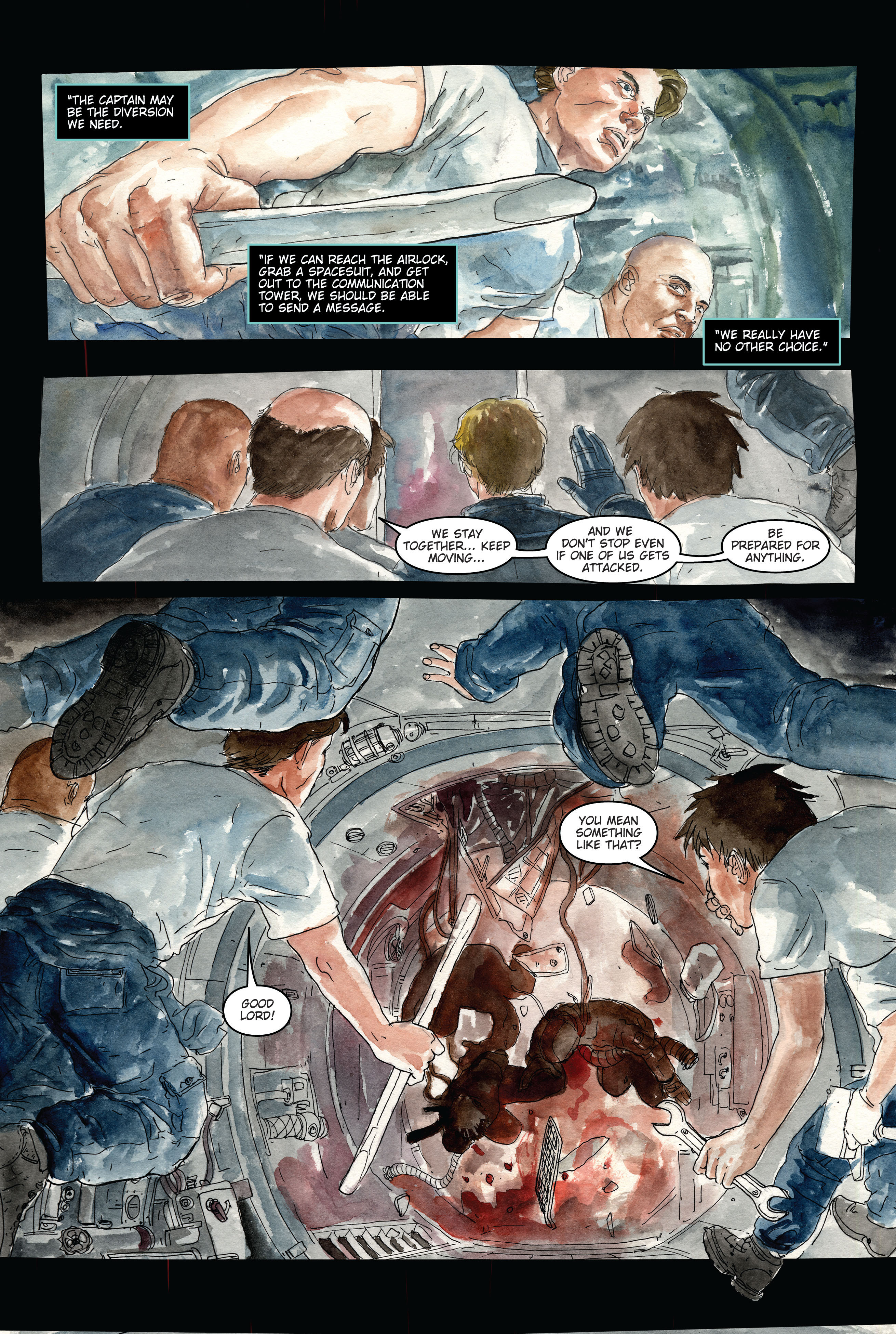 30 Days of Night: Dead Space 3 Page 5