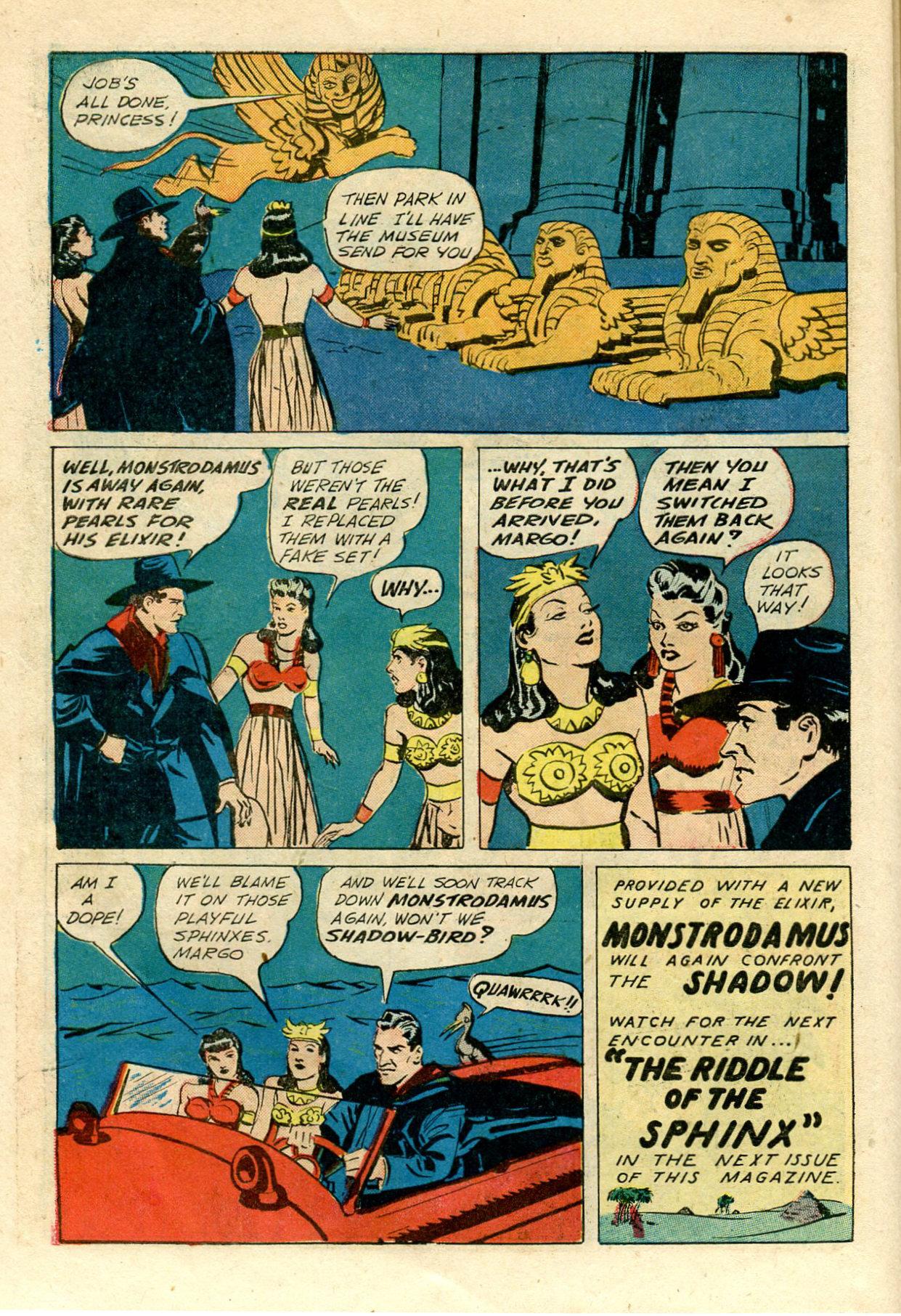 Read online Shadow Comics comic -  Issue #33 - 18