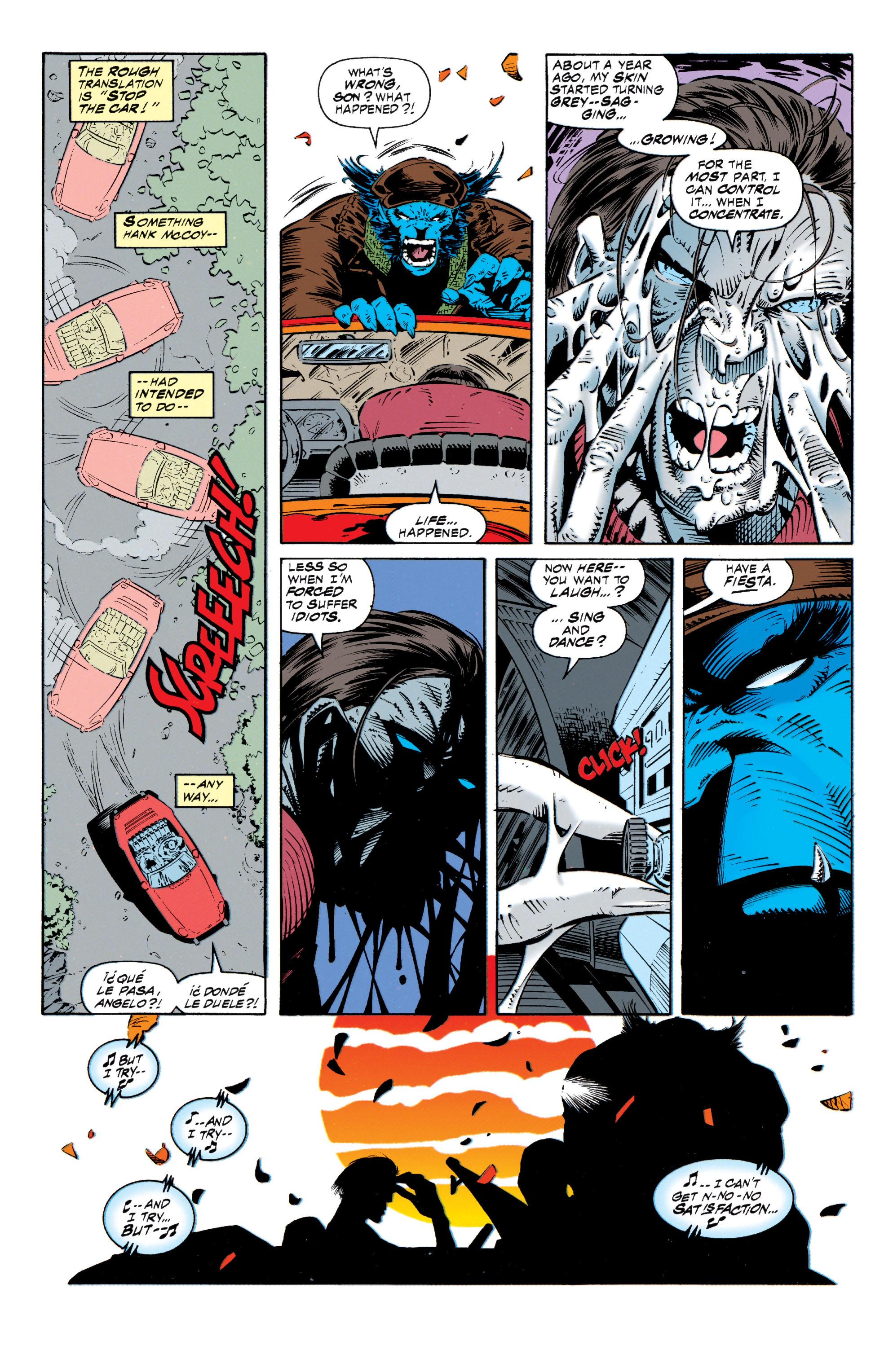 Read online Uncanny X-Men (1963) comic -  Issue #318 - 12