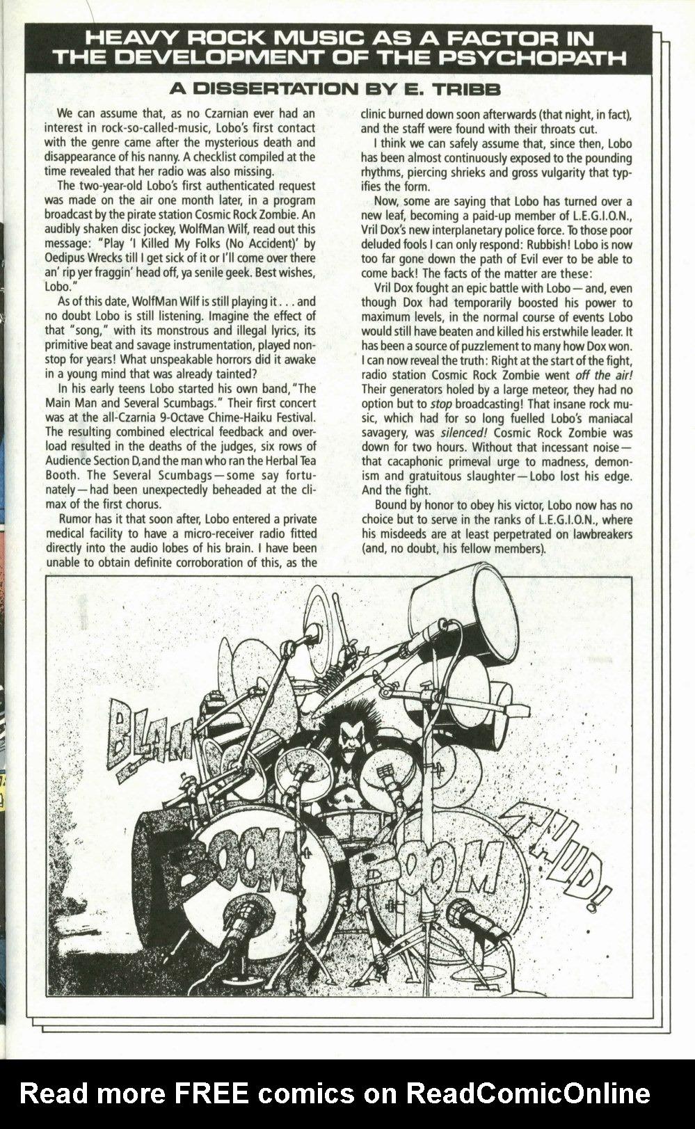 Read online Lobo (1990) comic -  Issue #4 - 8