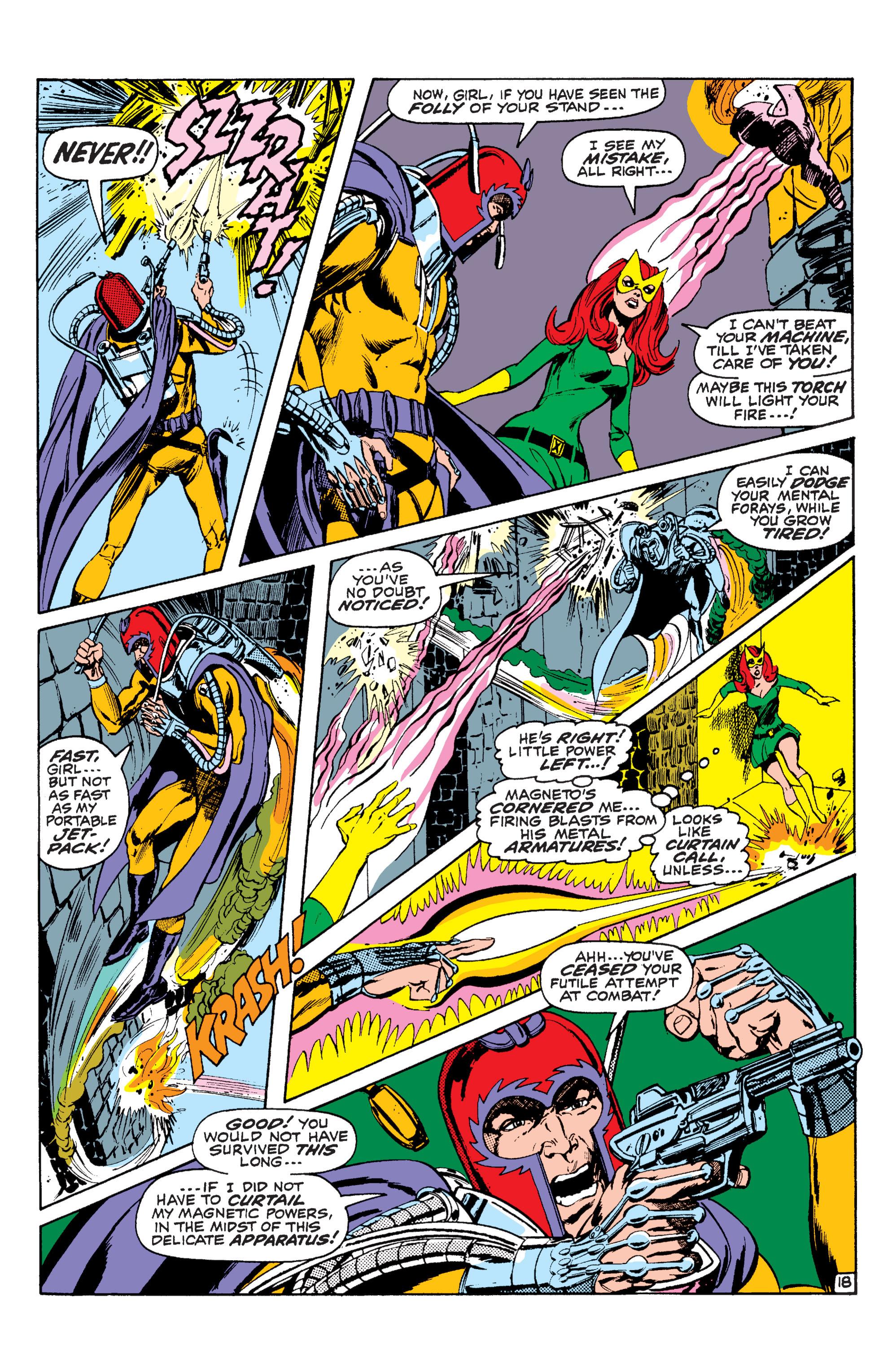 Read online Uncanny X-Men (1963) comic -  Issue #63 - 19