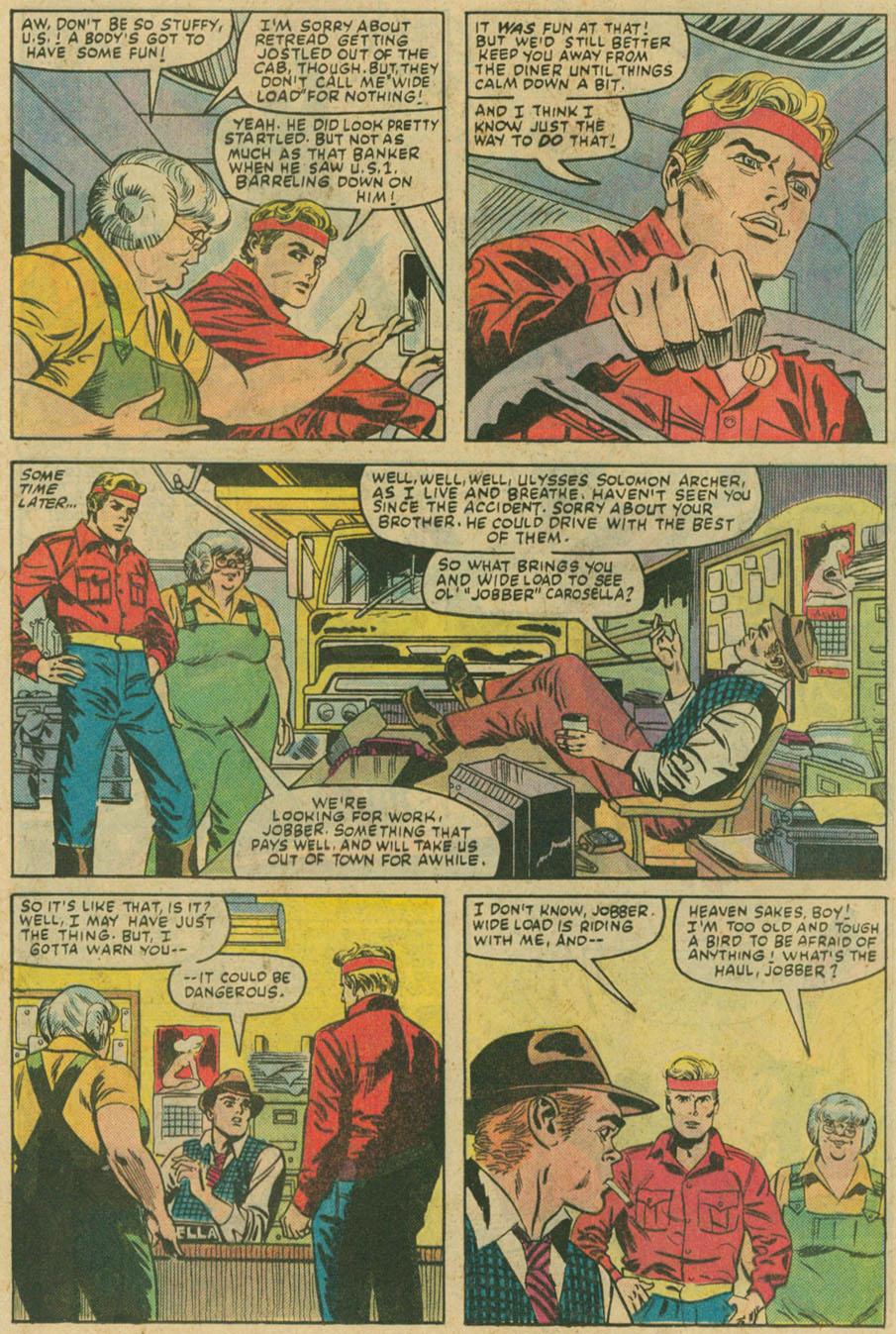 Read online U.S. 1 comic -  Issue #6 - 10